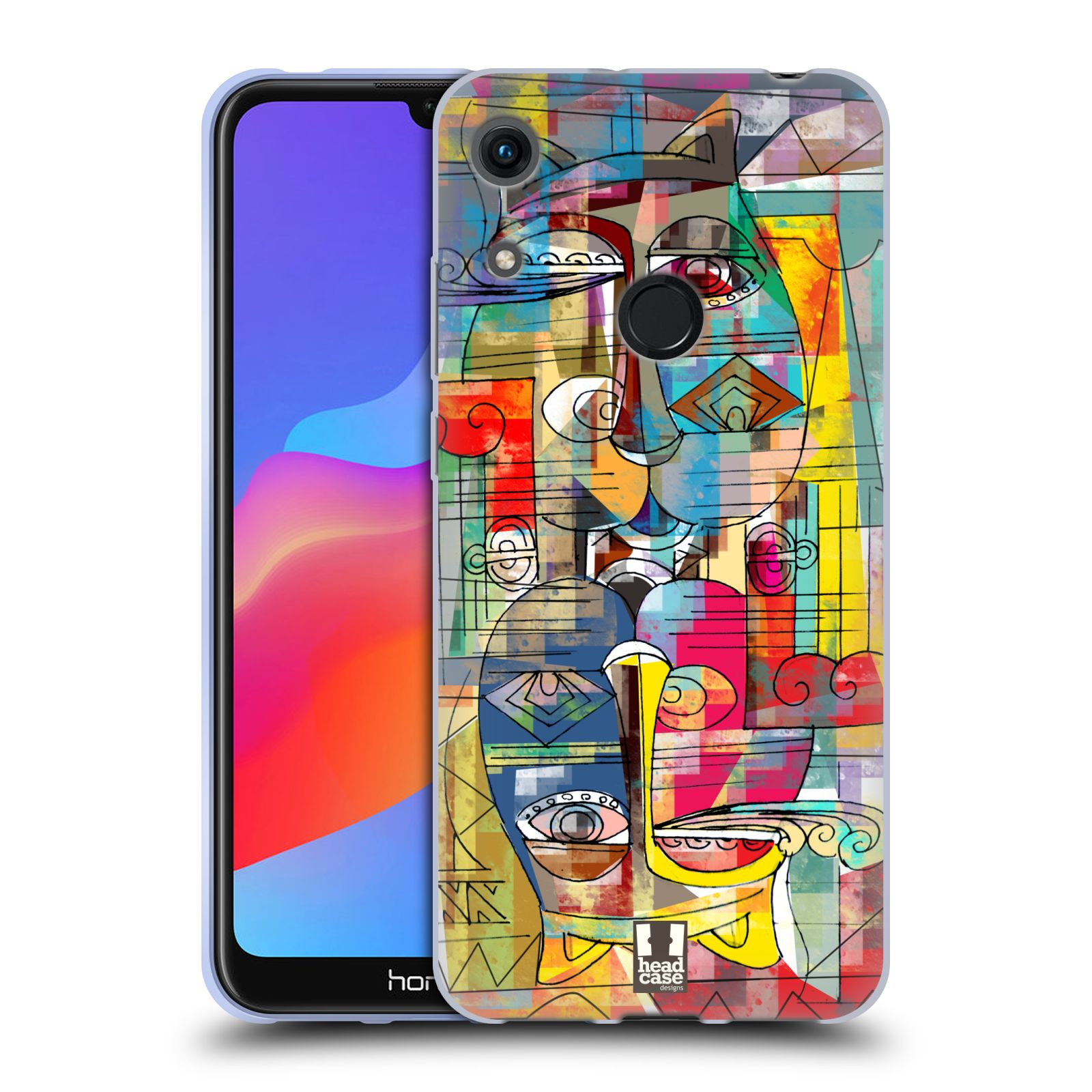 Silikonové pouzdro na mobil Honor 8A - Head Case - AZTEC MANX