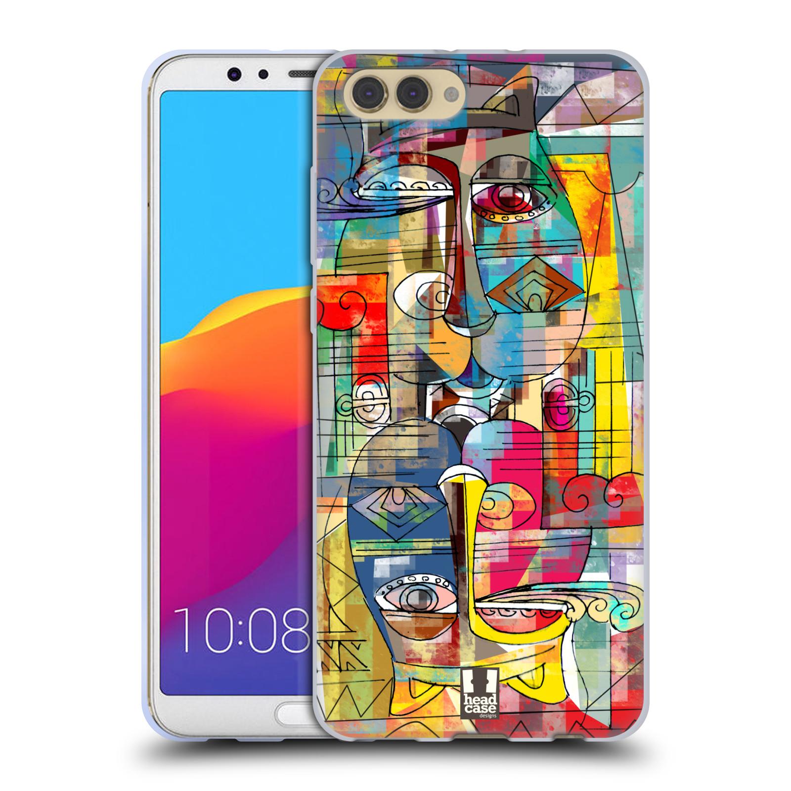 Silikonové pouzdro na mobil Honor View 10 - Head Case - AZTEC MANX