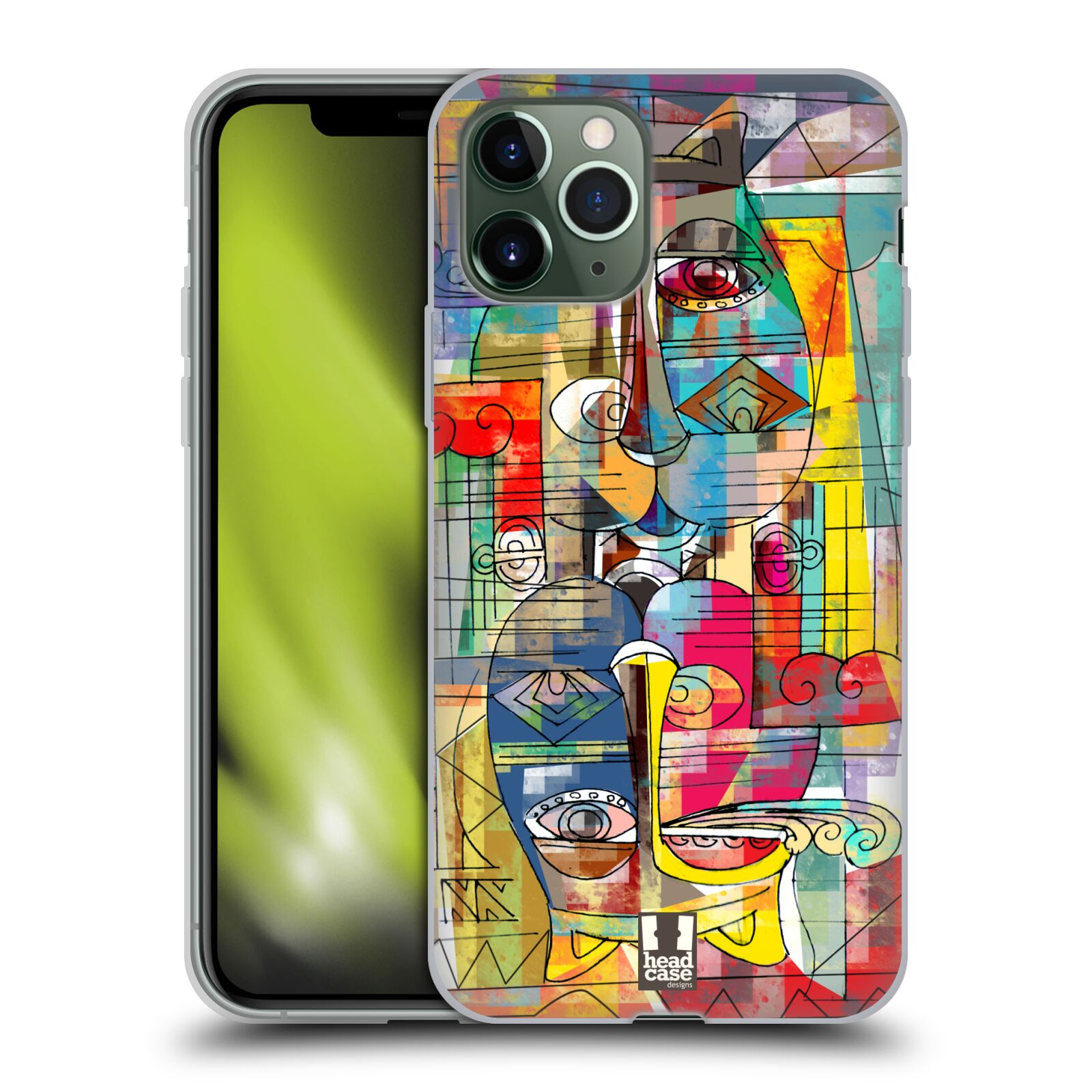 iphone 7 plus kryt apple - Silikonové pouzdro na mobil Apple iPhone 11 Pro - Head Case - AZTEC MANX