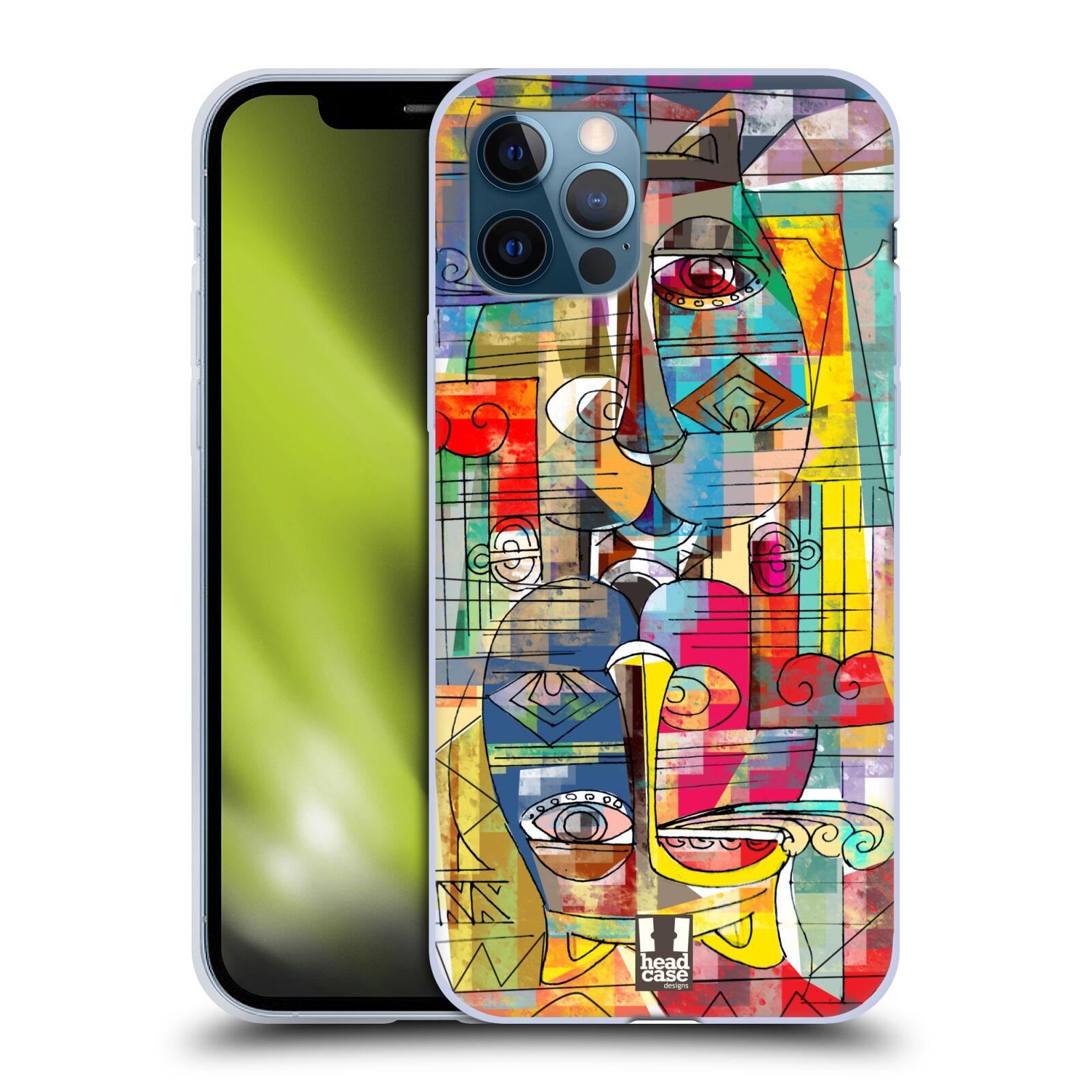 Silikonové pouzdro na mobil Apple iPhone 12 / 12 Pro - Head Case - AZTEC MANX