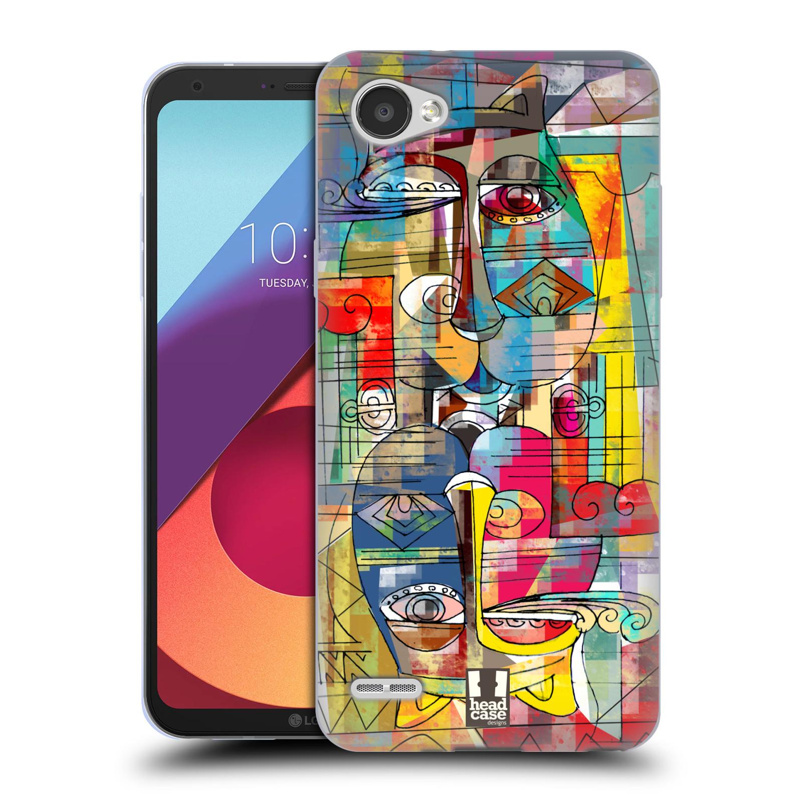 Silikonové pouzdro na mobil LG Q6 - Head Case - AZTEC MANX