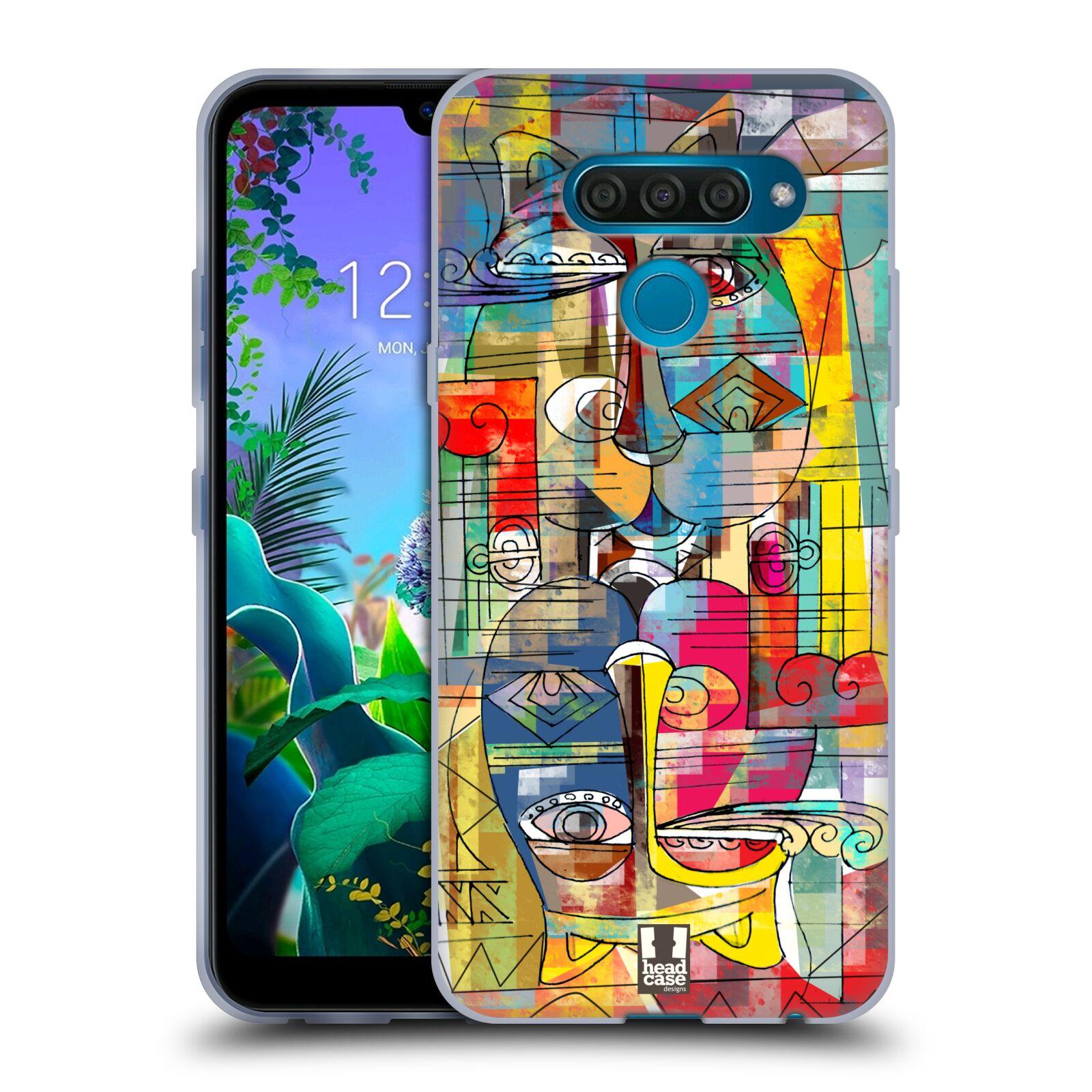 Silikonové pouzdro na mobil LG Q60 - Head Case - AZTEC MANX
