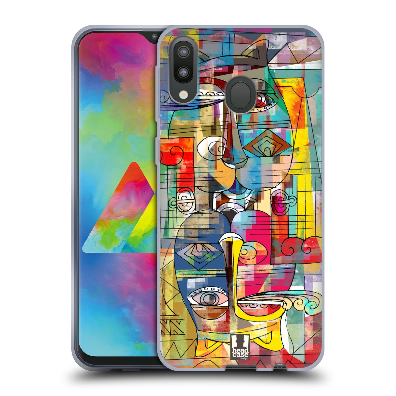 Silikonové pouzdro na mobil Samsung Galaxy M20 - Head Case - AZTEC MANX