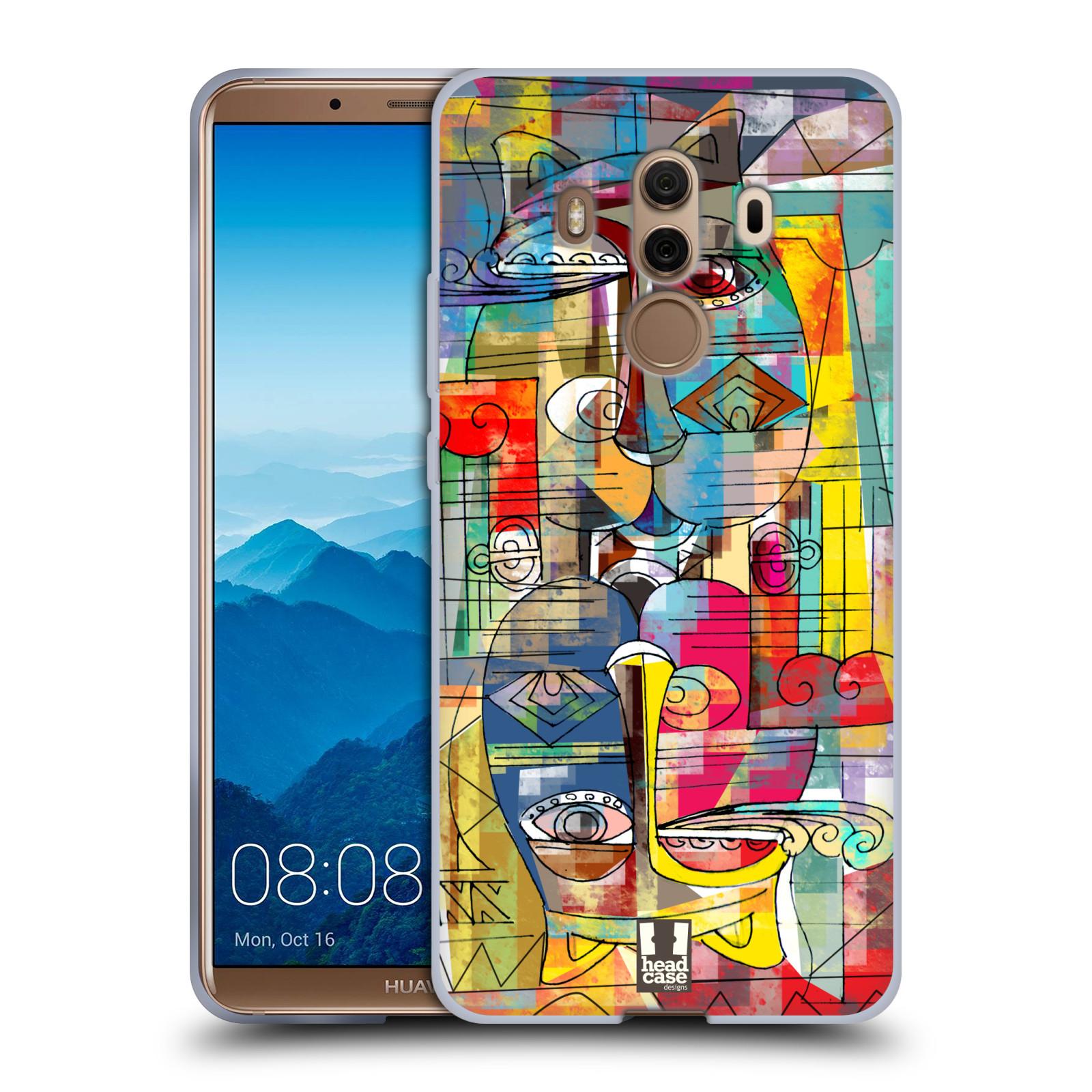 Silikonové pouzdro na mobil Huawei Mate 10 Pro - Head Case - AZTEC MANX