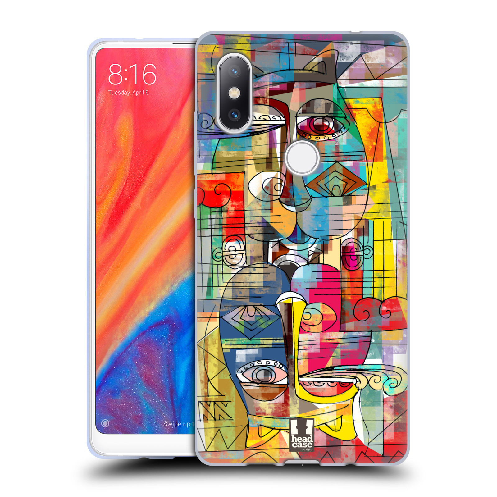 Silikonové pouzdro na mobil Xiaomi Mi Mix 2S - Head Case - AZTEC MANX
