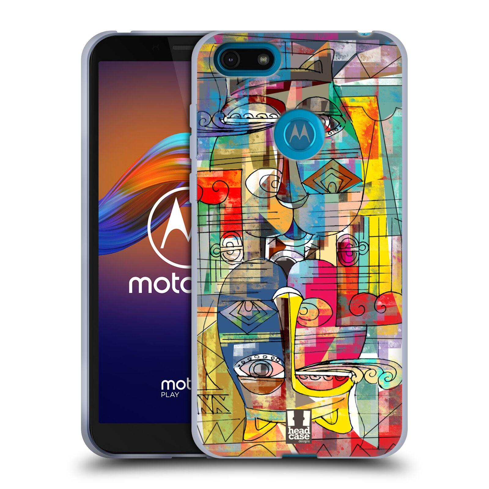 Silikonové pouzdro na mobil Motorola Moto E6 Play - Head Case - AZTEC MANX