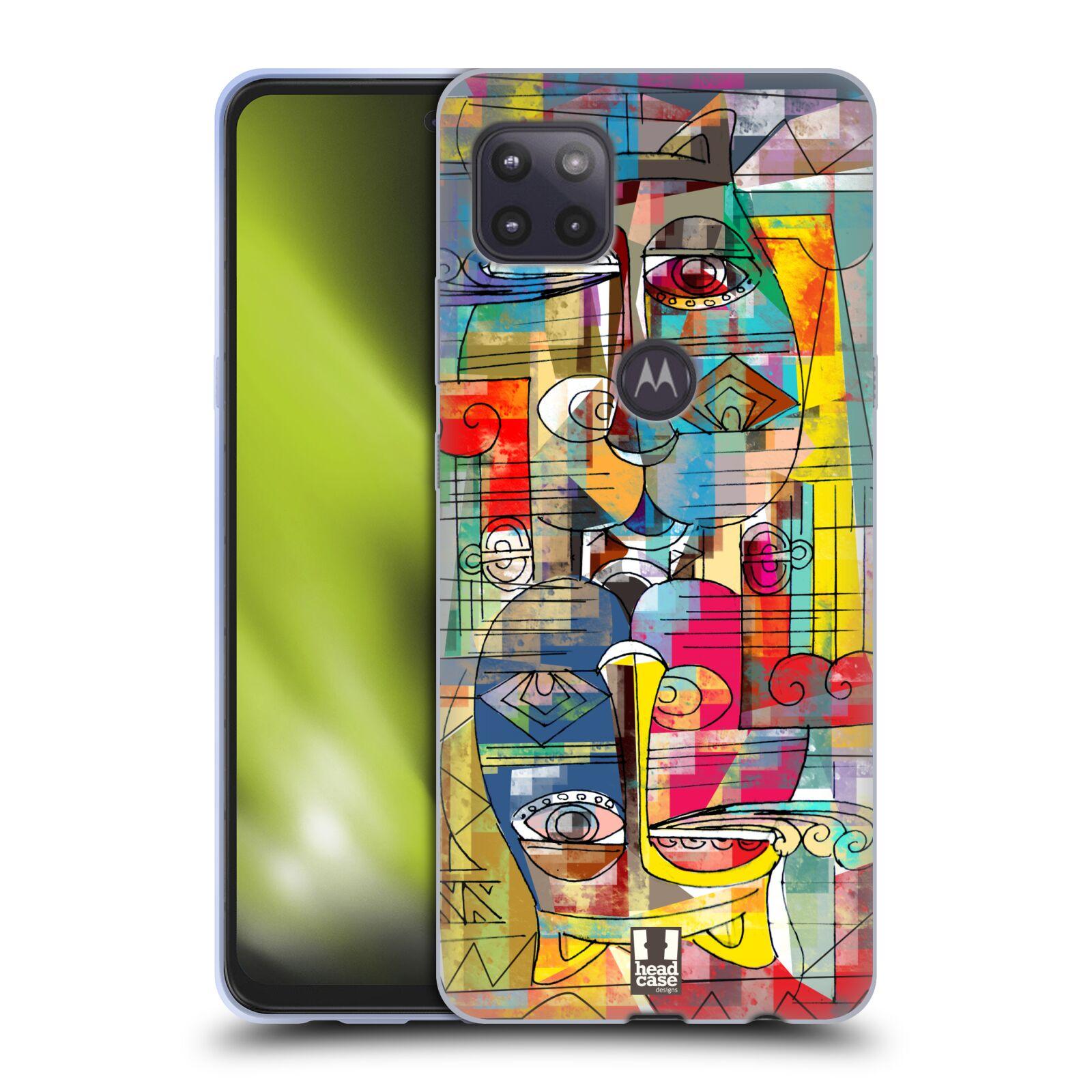 Silikonové pouzdro na mobil Motorola Moto G 5G - Head Case - AZTEC MANX