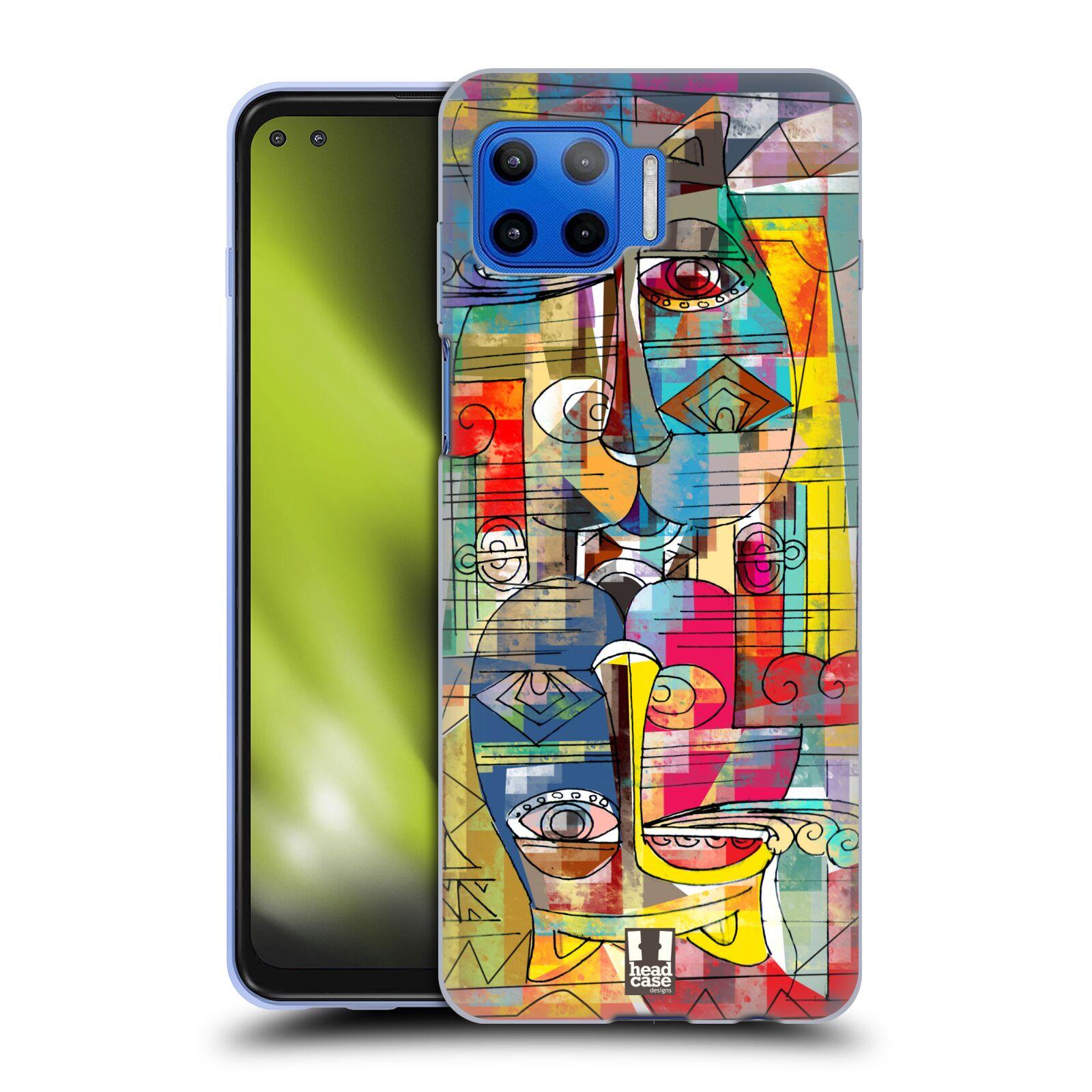 Silikonové pouzdro na mobil Motorola Moto G 5G Plus - Head Case - AZTEC MANX
