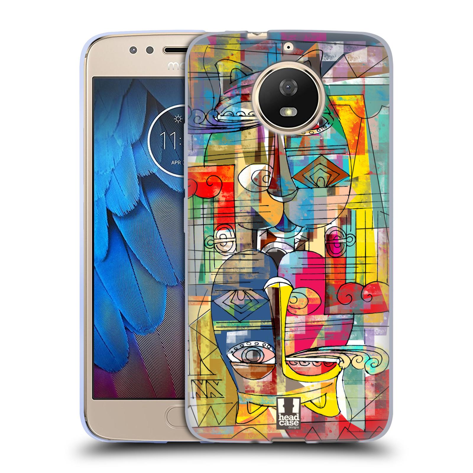 Silikonové pouzdro na mobil Lenovo Moto G5s - Head Case - AZTEC MANX