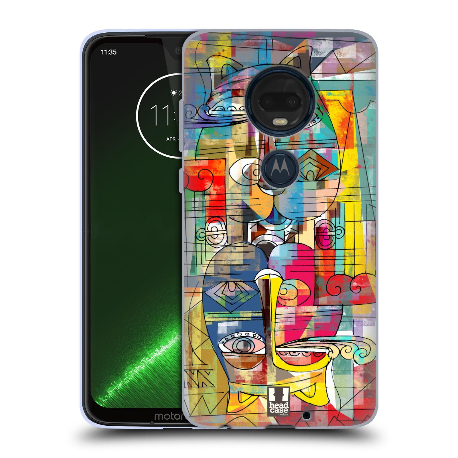Silikonové pouzdro na mobil Motorola Moto G7 Plus - Head Case - AZTEC MANX