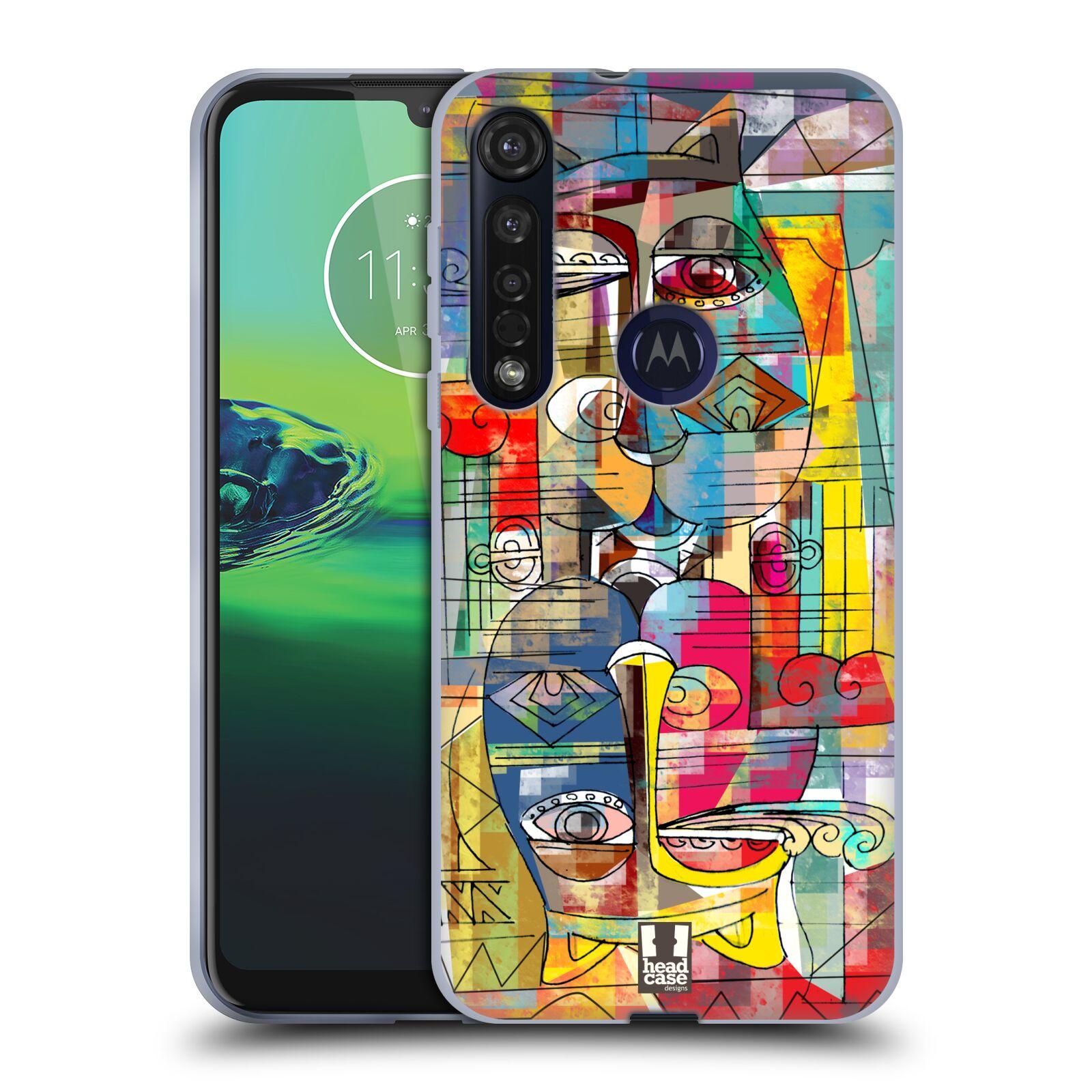 Silikonové pouzdro na mobil Motorola Moto G8 Plus - Head Case - AZTEC MANX