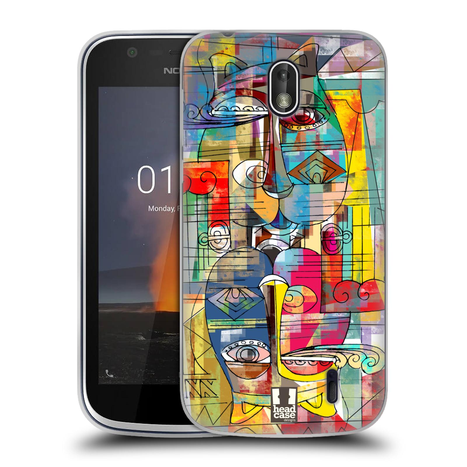 Silikonové pouzdro na mobil Nokia 1 - Head Case - AZTEC MANX