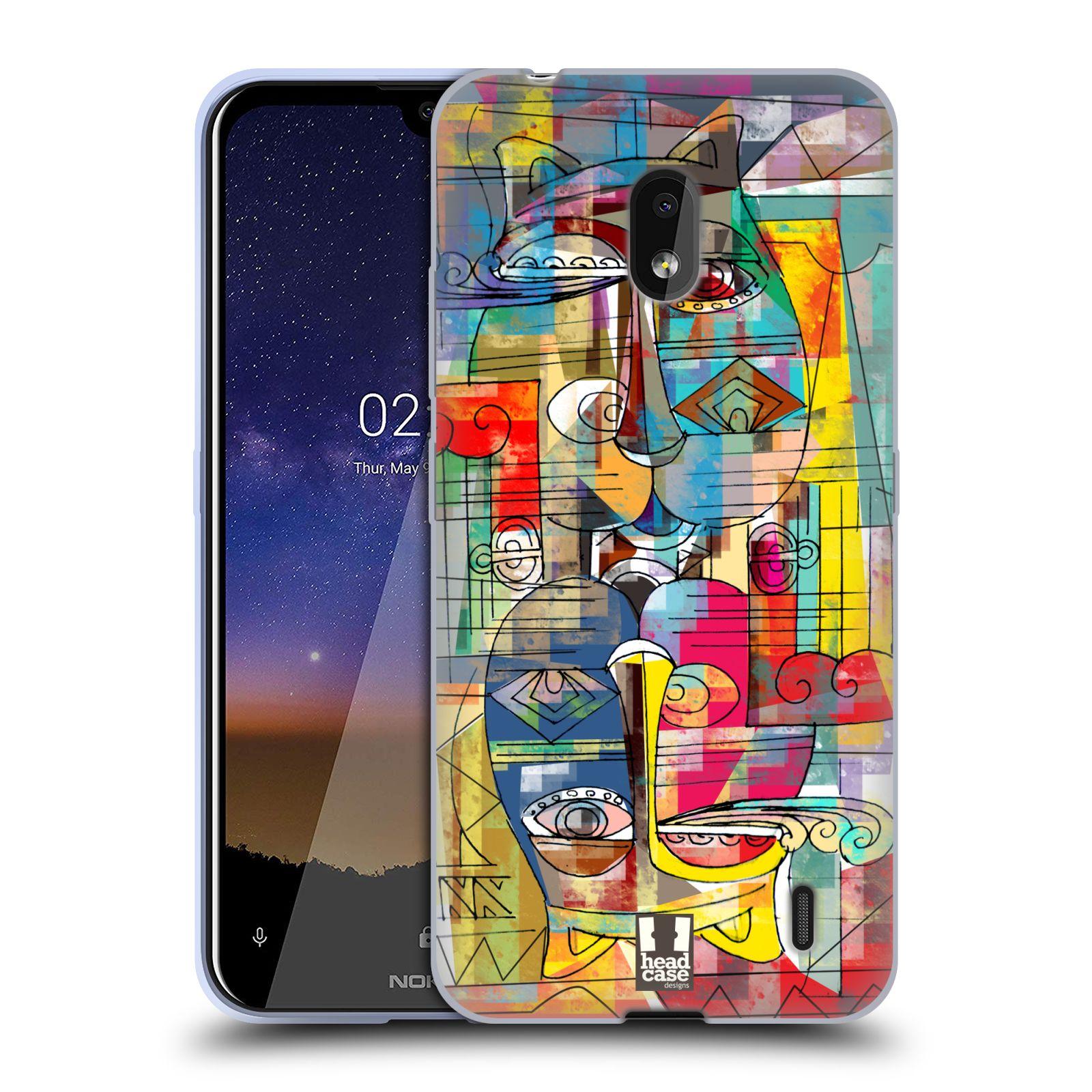 Silikonové pouzdro na mobil Nokia 2.2 - Head Case - AZTEC MANX
