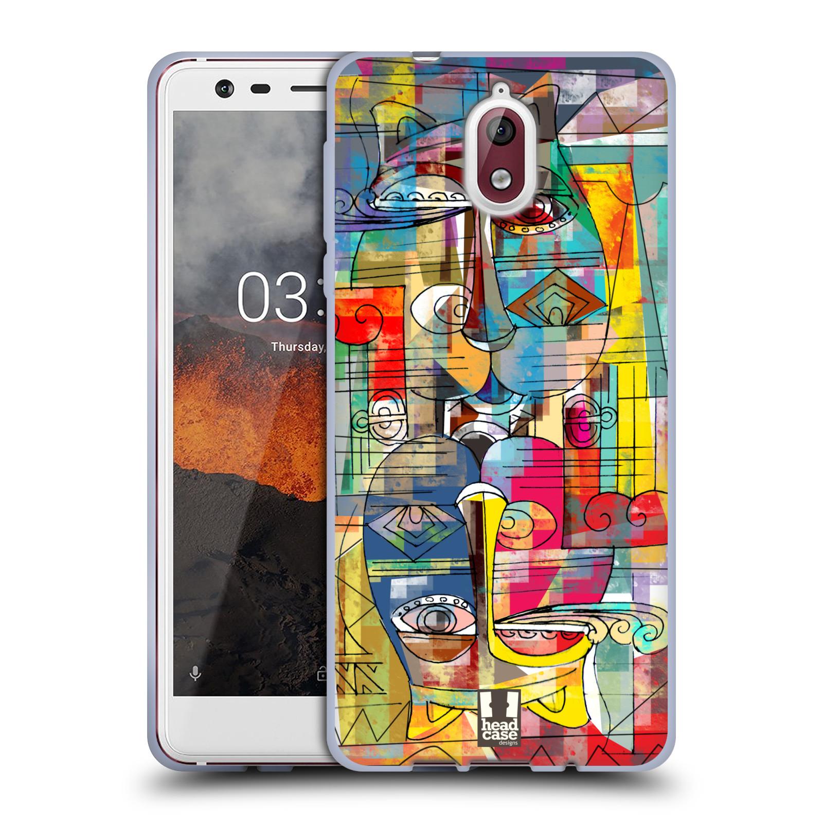 Silikonové pouzdro na mobil Nokia 3.1 - Head Case - AZTEC MANX