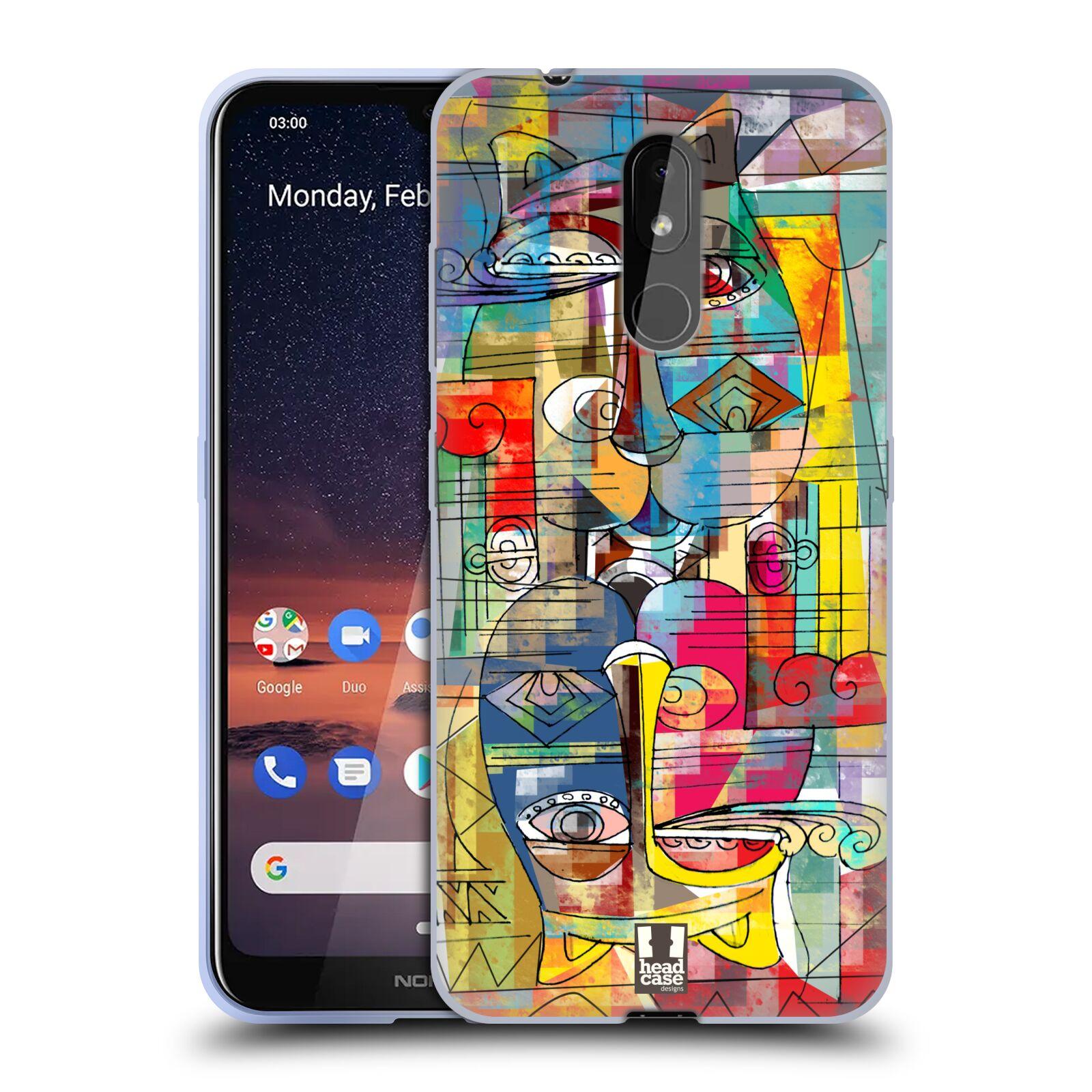 Silikonové pouzdro na mobil Nokia 3.2 - Head Case - AZTEC MANX