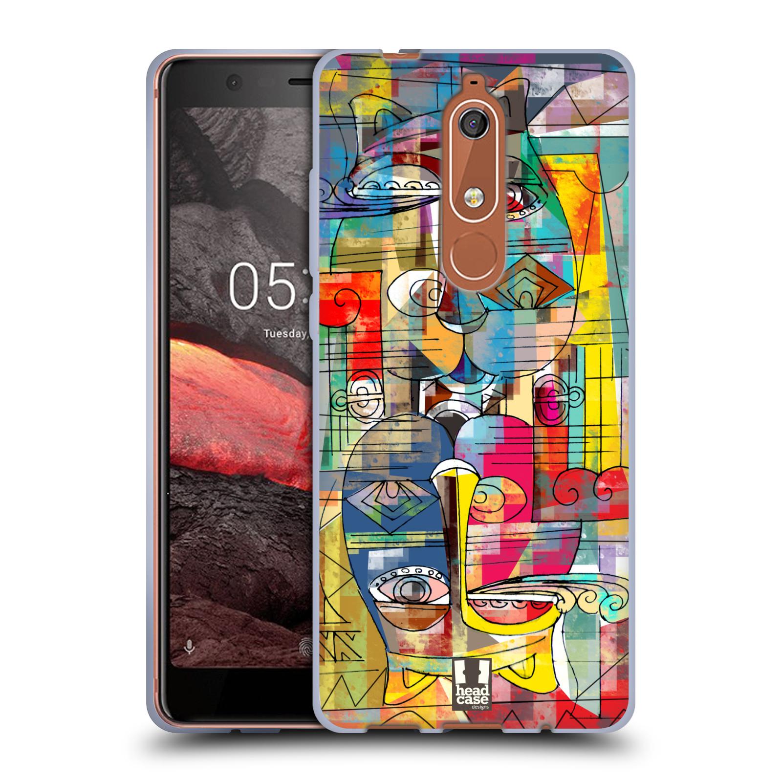Silikonové pouzdro na mobil Nokia 5.1 - Head Case - AZTEC MANX