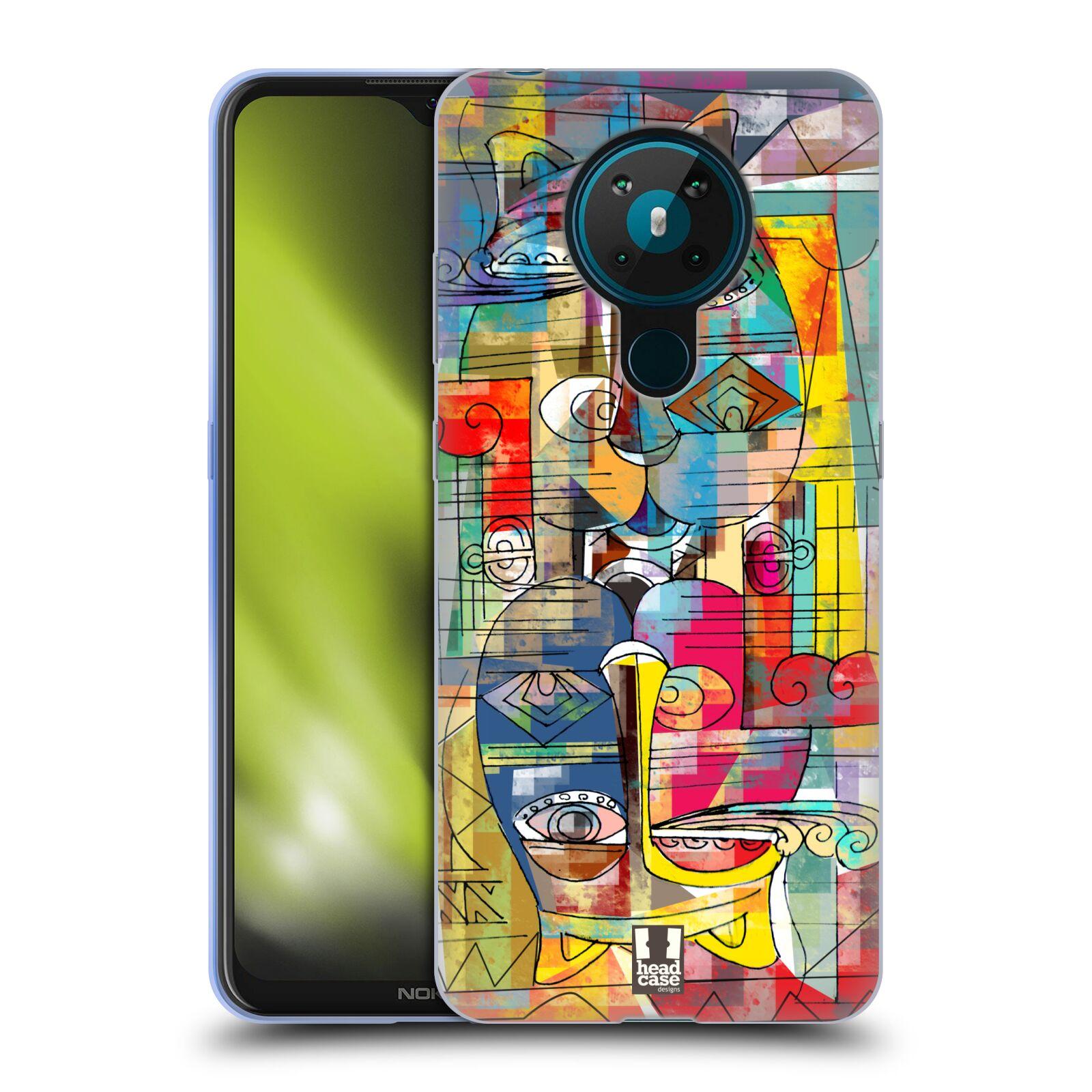 Silikonové pouzdro na mobil Nokia 5.3 - Head Case - AZTEC MANX