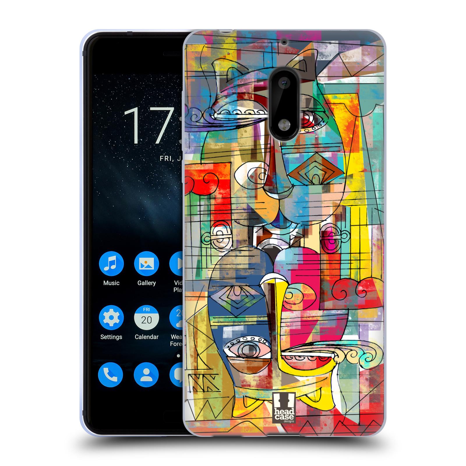 Silikonové pouzdro na mobil Nokia 6 - Head Case - AZTEC MANX