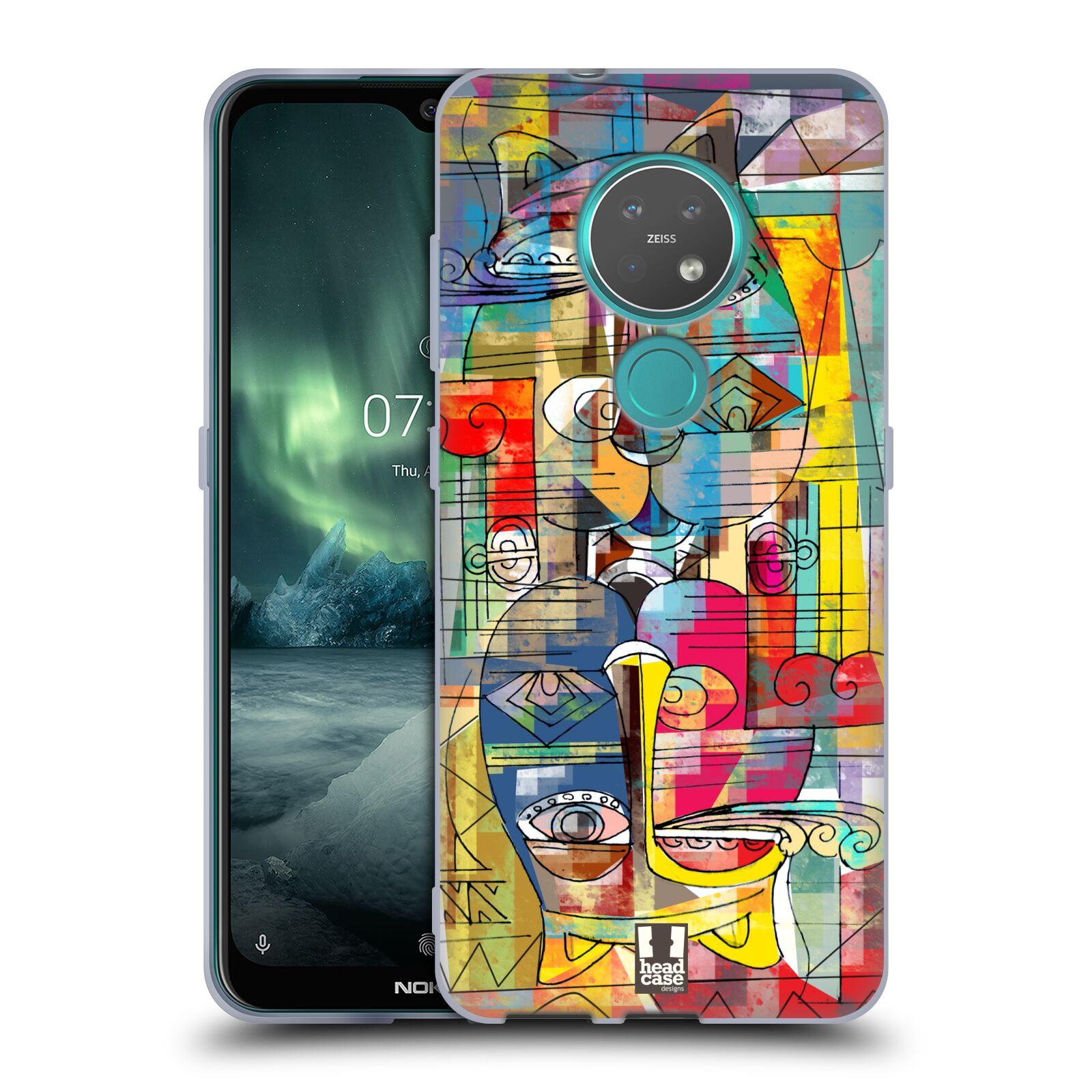 Silikonové pouzdro na mobil Nokia 7.2 - Head Case - AZTEC MANX