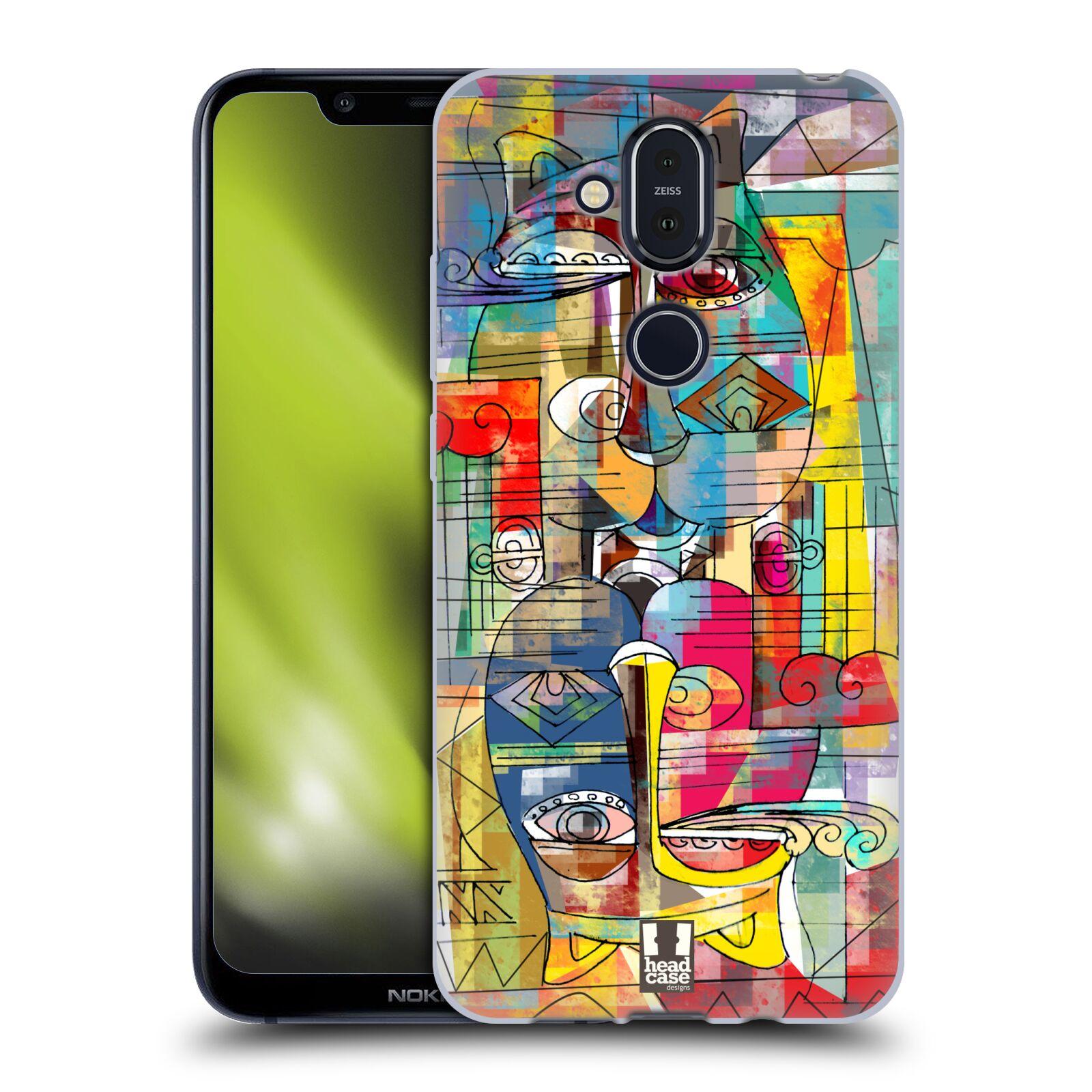 Silikonové pouzdro na mobil Nokia 8.1 - Head Case - AZTEC MANX