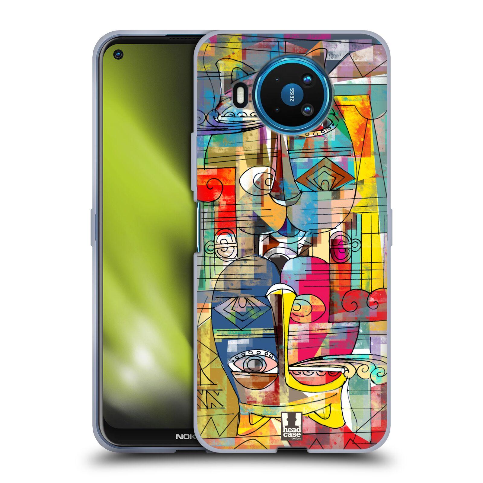 Silikonové pouzdro na mobil Nokia 8.3 5G - Head Case - AZTEC MANX