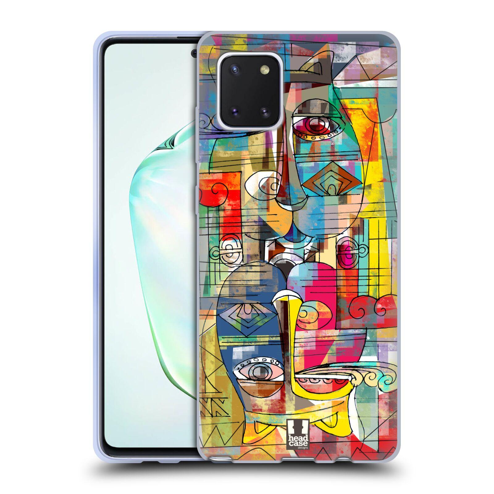 Silikonové pouzdro na mobil Samsung Galaxy Note 10 Lite - Head Case - AZTEC MANX