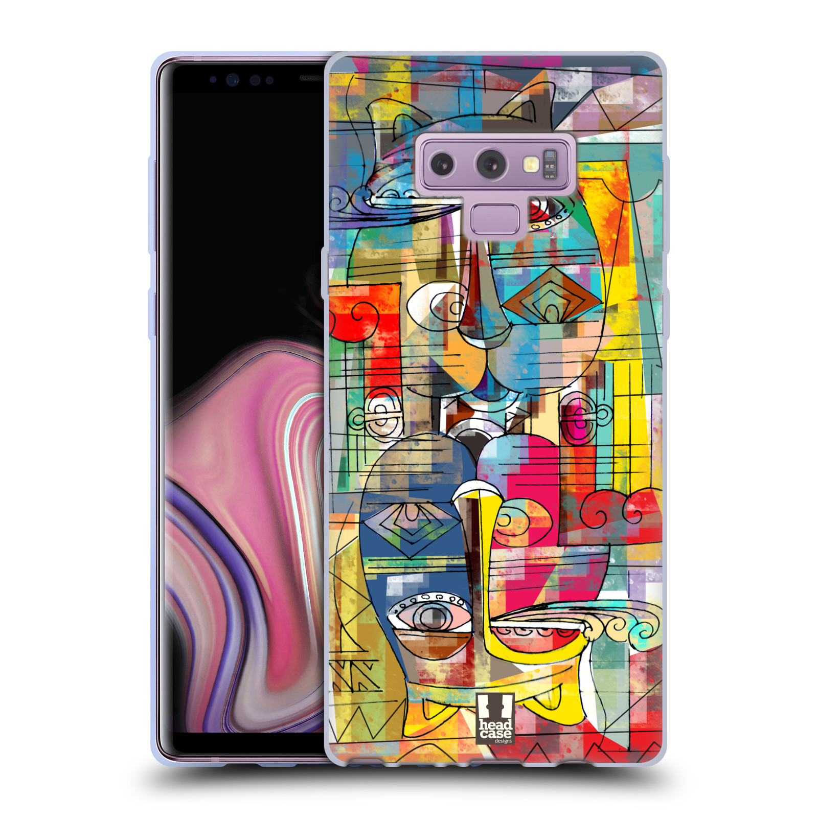 Silikonové pouzdro na mobil Samsung Galaxy Note 9 - Head Case - AZTEC MANX