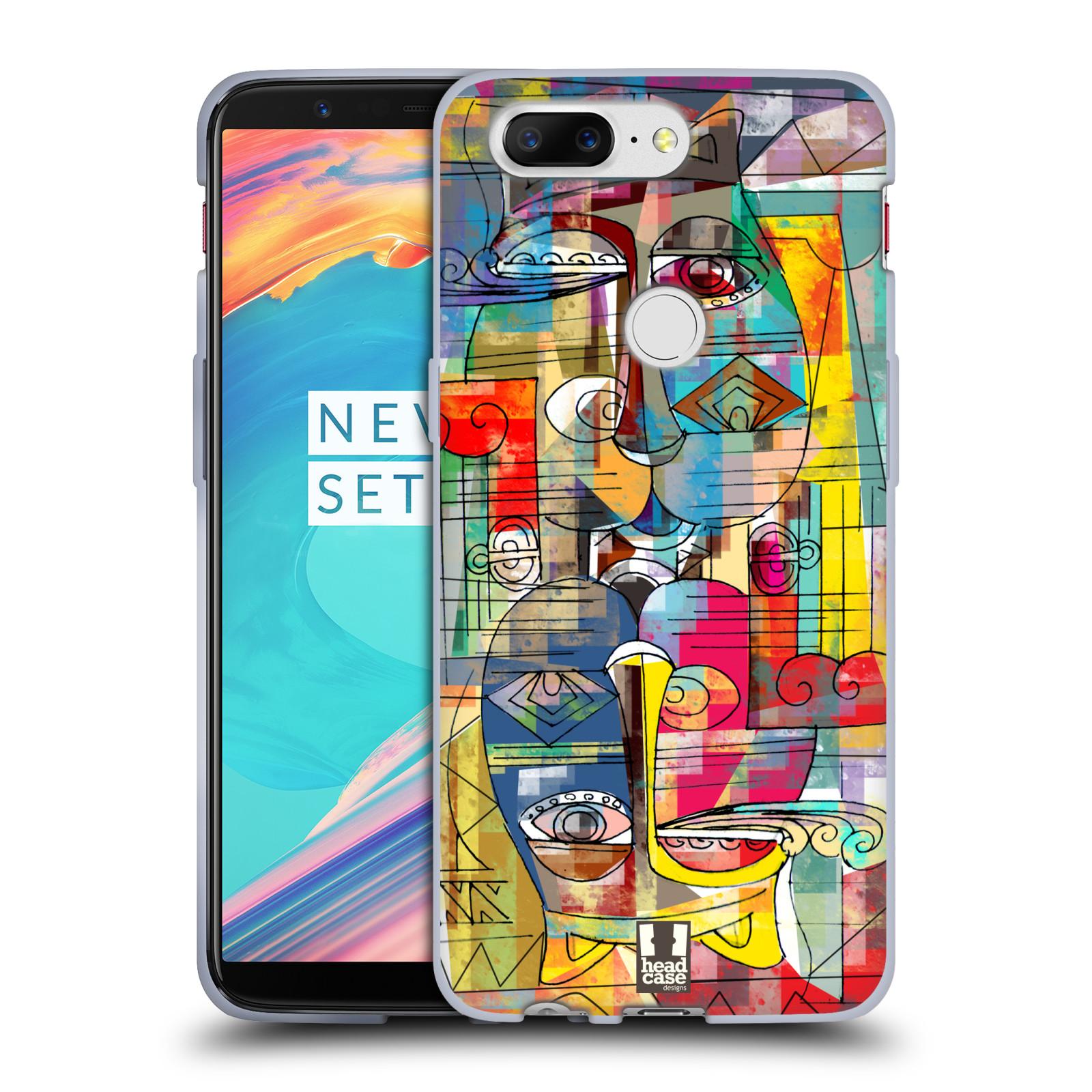 Silikonové pouzdro na mobil OnePlus 5T - Head Case - AZTEC MANX