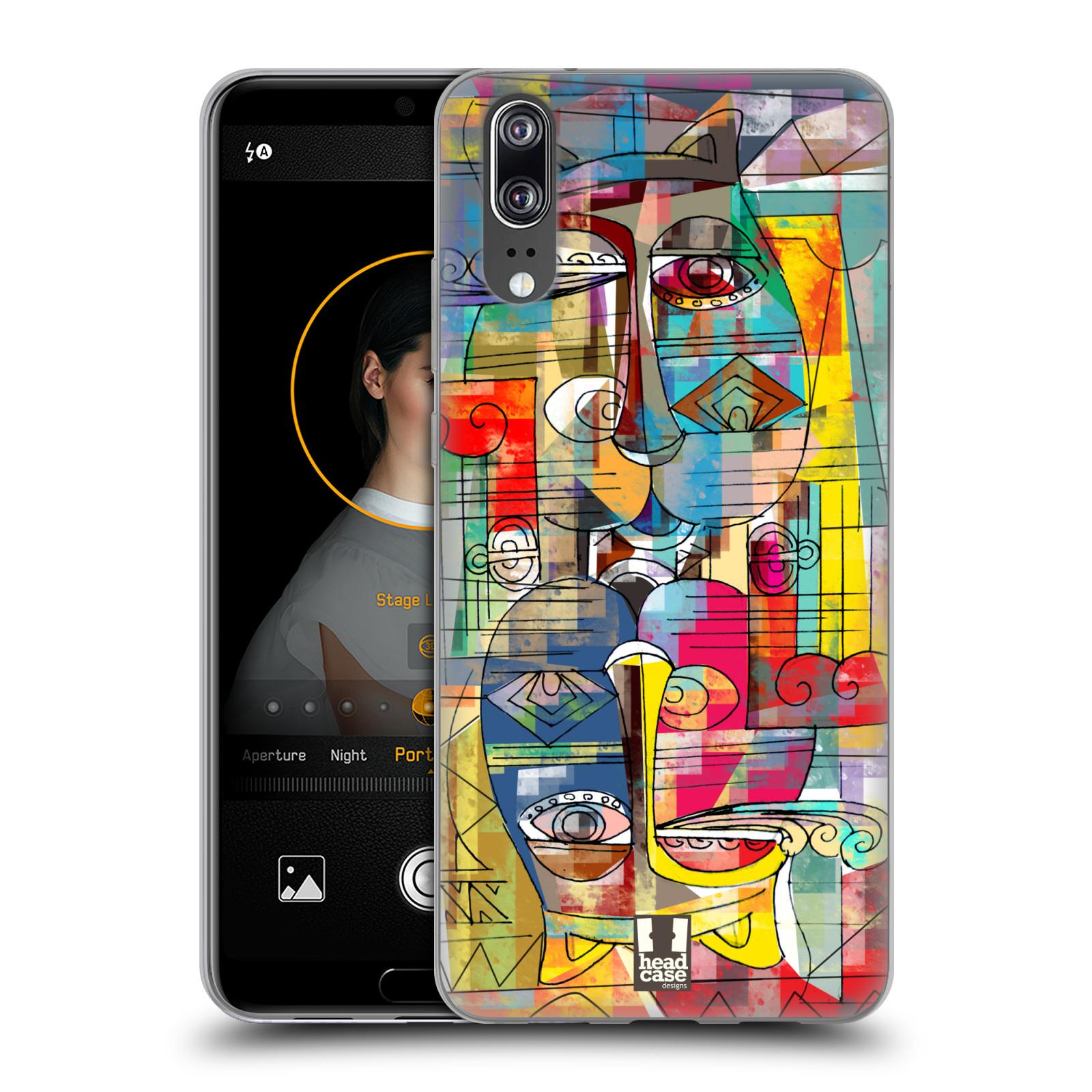 Silikonové pouzdro na mobil Huawei P20 - Head Case - AZTEC MANX