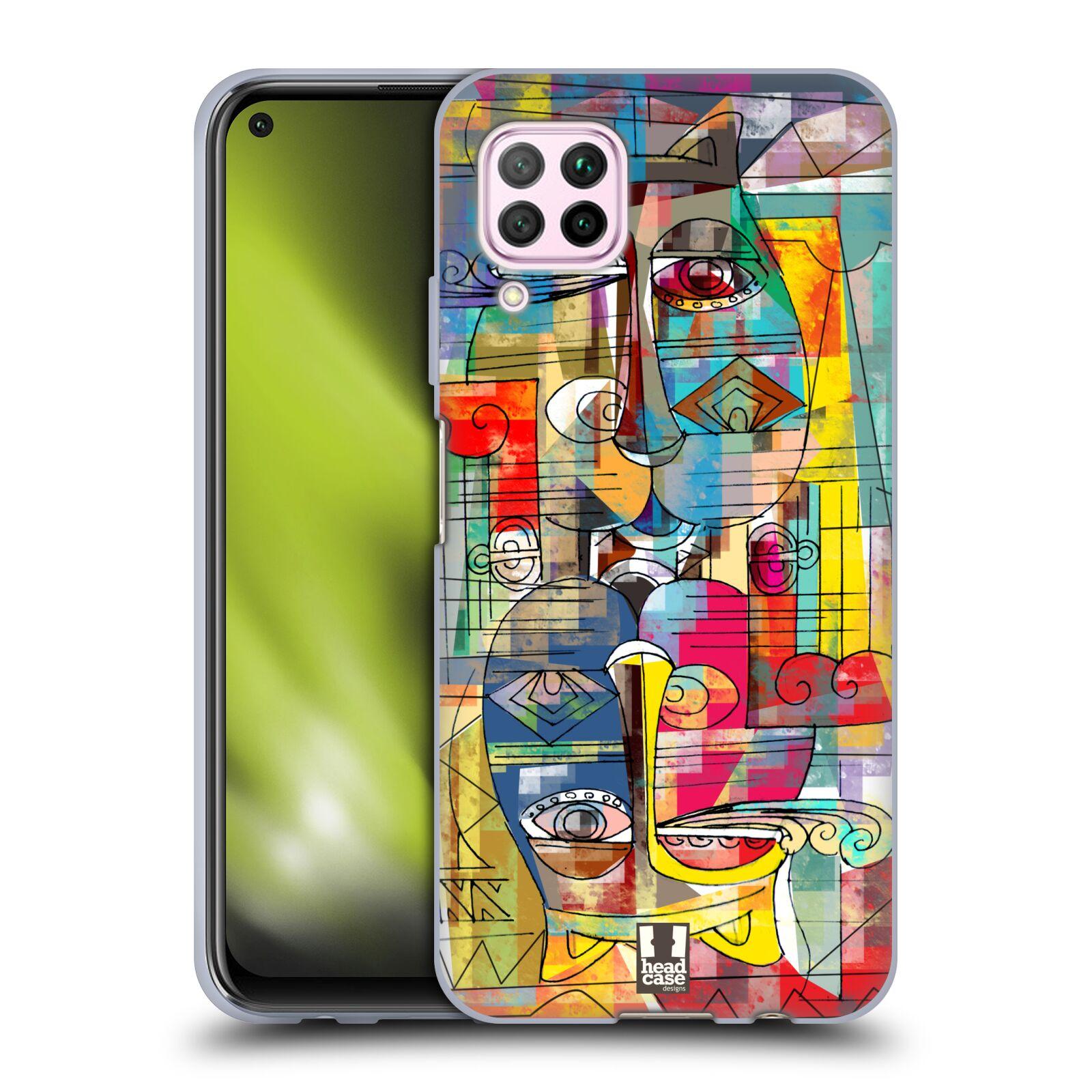 Silikonové pouzdro na mobil Huawei P40 Lite - Head Case - AZTEC MANX