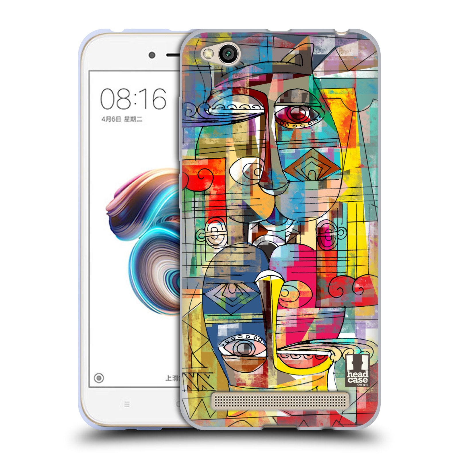 Silikonové pouzdro na mobil Xiaomi Redmi 5A - Head Case - AZTEC MANX