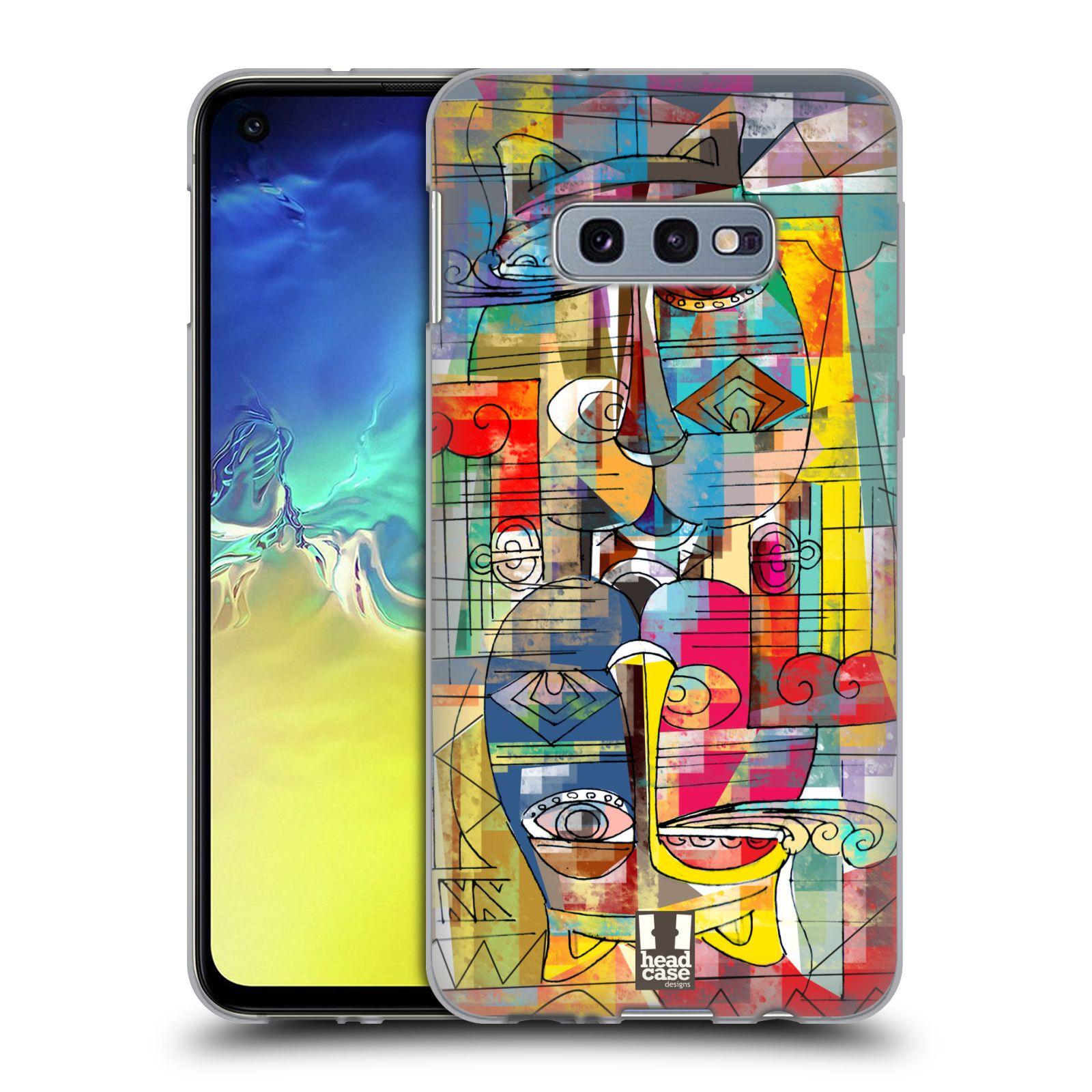 Silikonové pouzdro na mobil Samsung Galaxy S10e - Head Case - AZTEC MANX