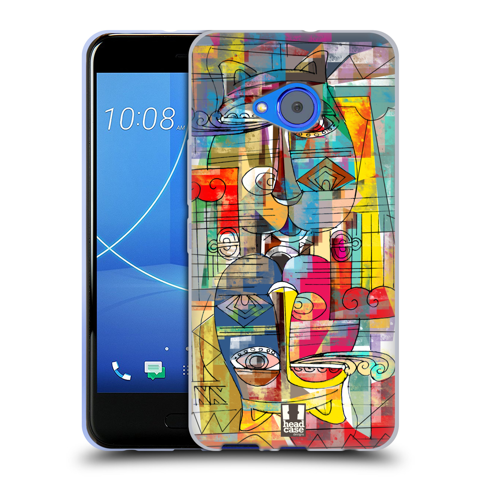 Silikonové pouzdro na mobil HTC U11 Life - Head Case - AZTEC MANX