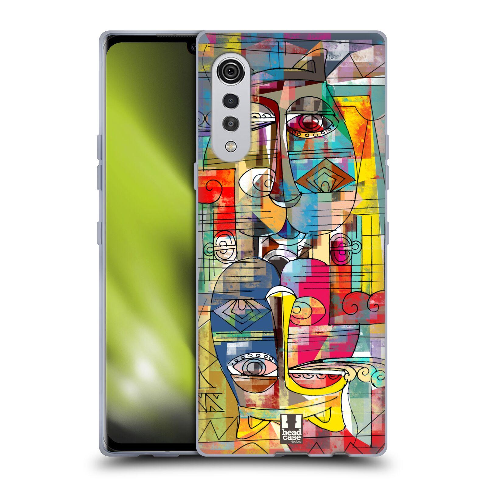 Silikonové pouzdro na mobil LG Velvet - Head Case - AZTEC MANX