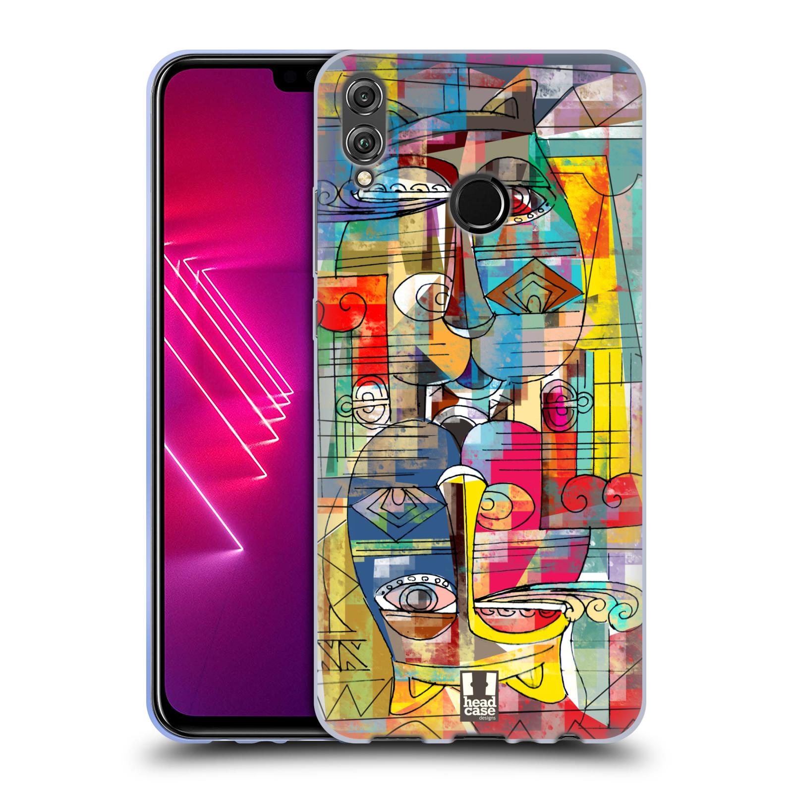 Silikonové pouzdro na mobil Honor View 10 Lite - Head Case - AZTEC MANX