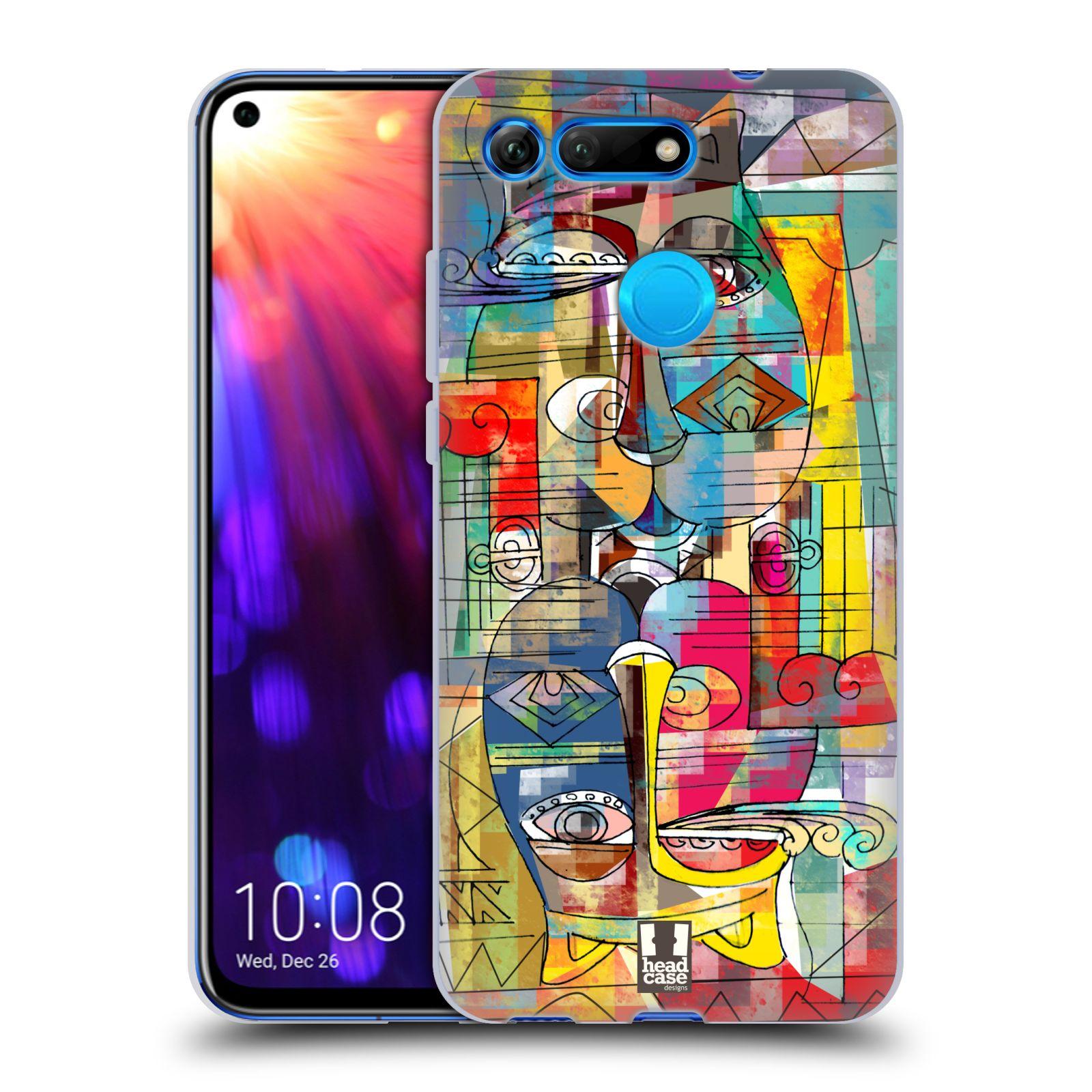 Silikonové pouzdro na mobil Honor View 20 - Head Case - AZTEC MANX