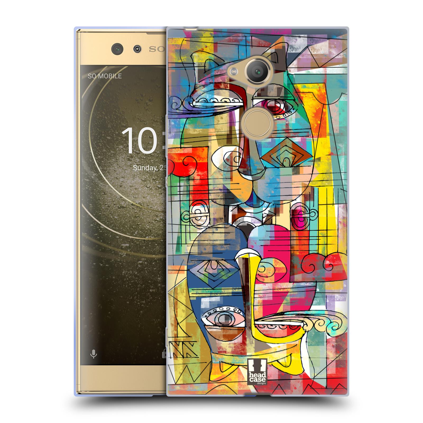 Silikonové pouzdro na mobil Sony Xperia XA2 Ultra - Head Case - AZTEC MANX