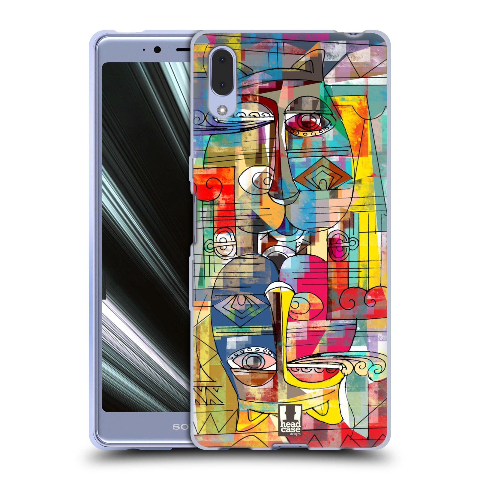Silikonové pouzdro na mobil Sony Xperia L3 - Head Case - AZTEC MANX
