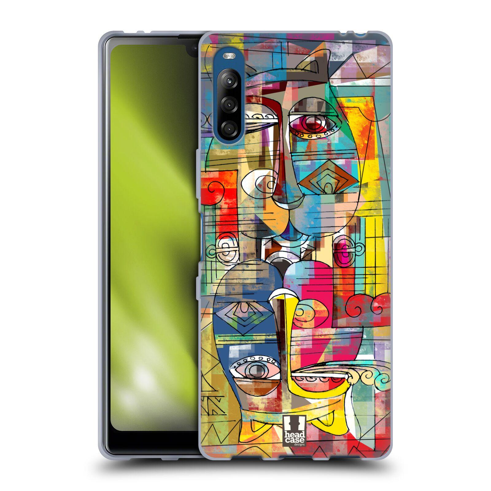 Silikonové pouzdro na mobil Sony Xperia L4 - Head Case - AZTEC MANX