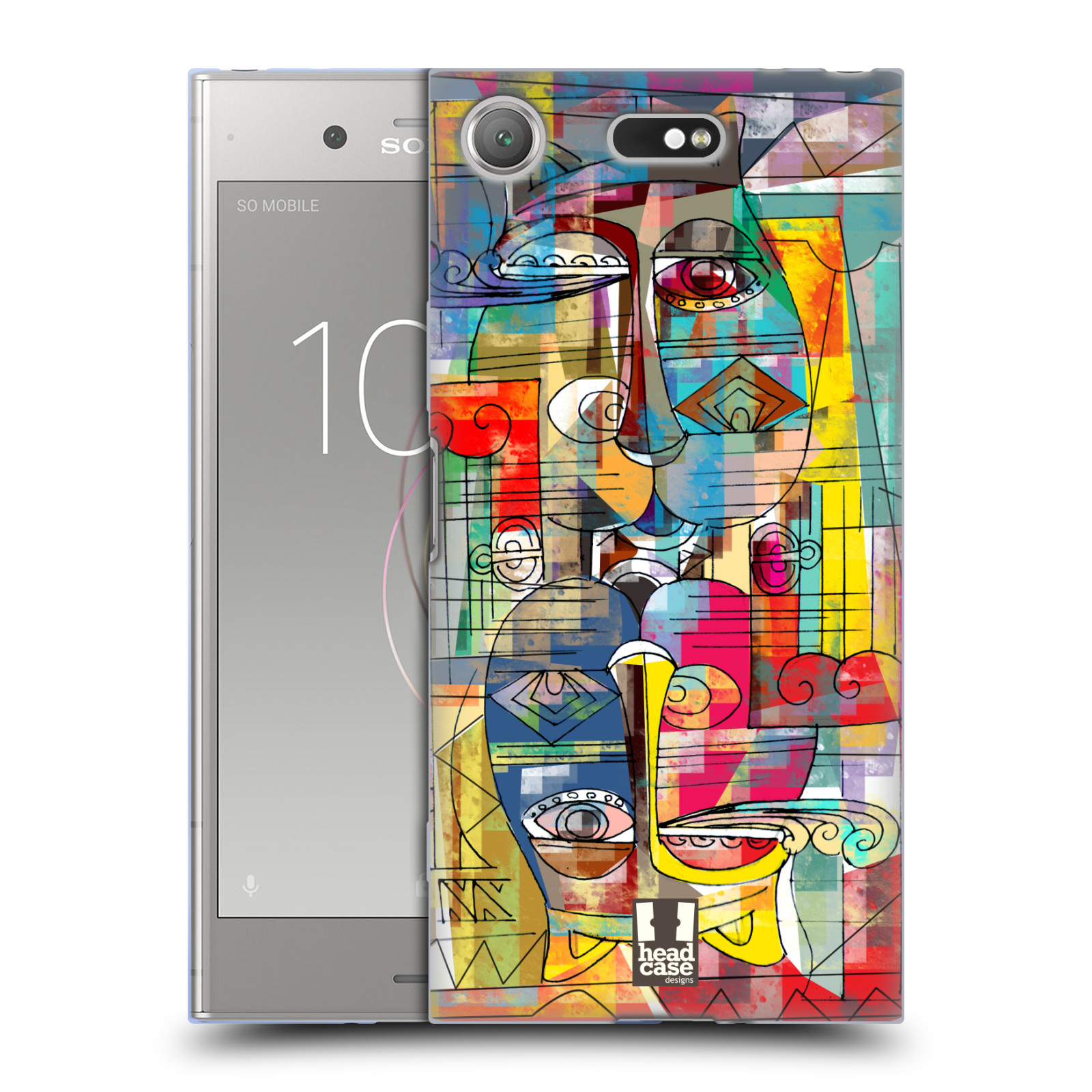 Silikonové pouzdro na mobil Sony Xperia XZ1 Compact - Head Case - AZTEC MANX