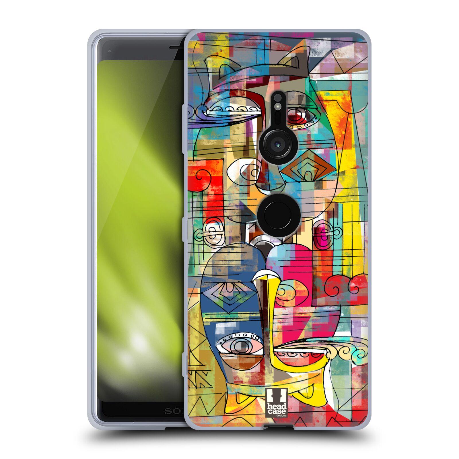 Silikonové pouzdro na mobil Sony Xperia XZ3 - Head Case - AZTEC MANX
