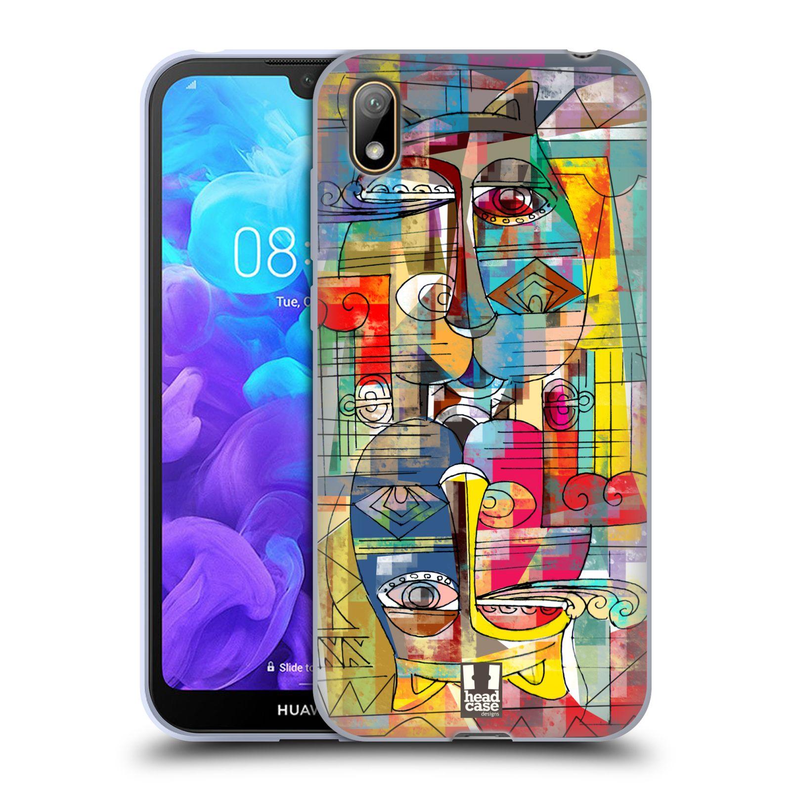 Silikonové pouzdro na mobil Huawei Y5 (2019) - Head Case - AZTEC MANX