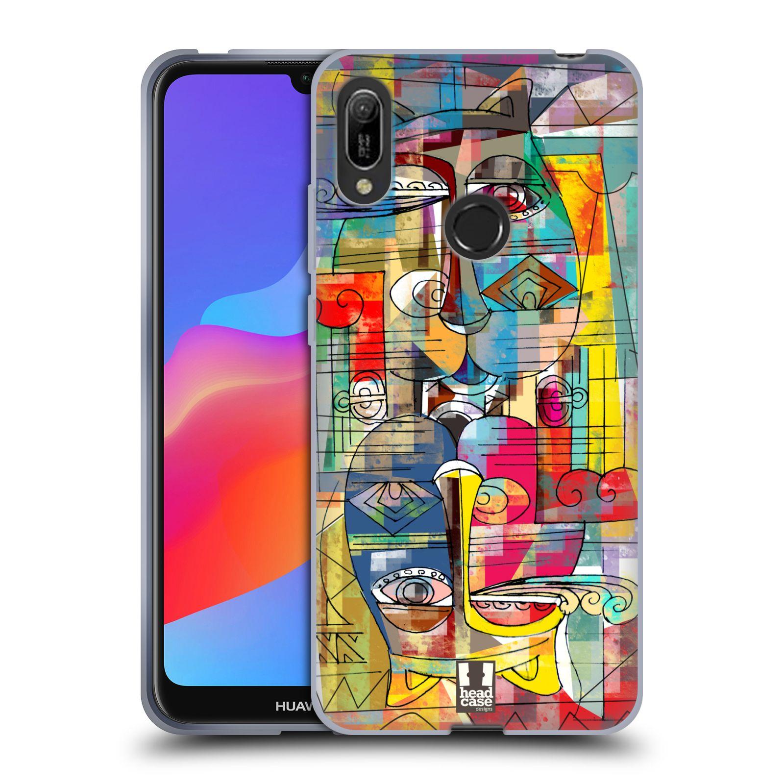 Silikonové pouzdro na mobil Huawei Y6 (2019) - Head Case - AZTEC MANX
