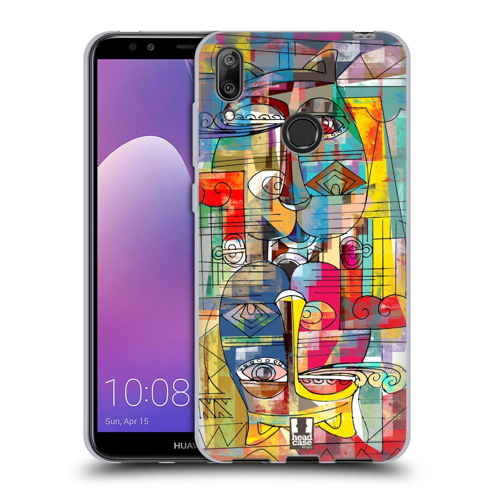Silikonové pouzdro na mobil Huawei Y7 (2019) - Head Case - AZTEC MANX