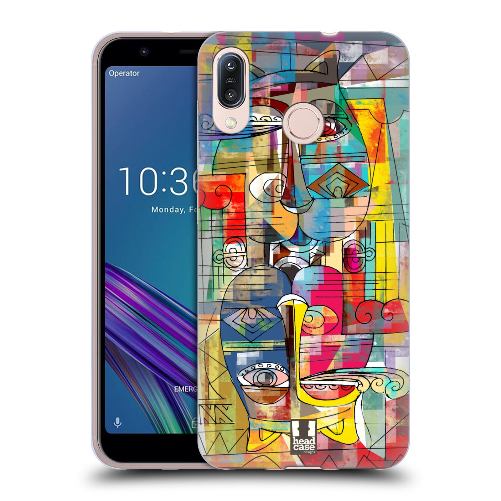 Silikonové pouzdro na mobil Asus Zenfone Max M1 ZB555KL - Head Case - AZTEC MANX