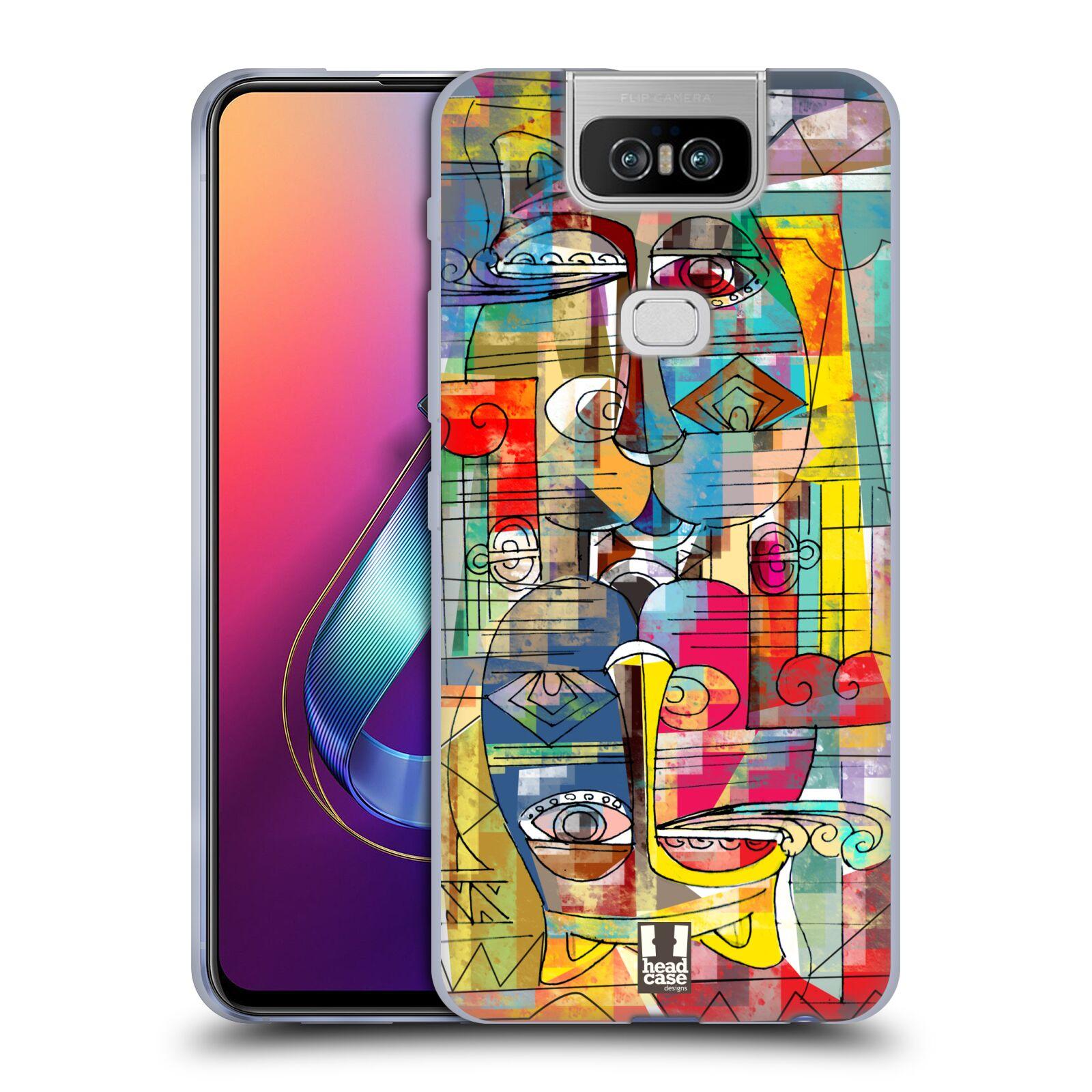 Silikonové pouzdro na mobil Asus Zenfone 6 ZS630KL - Head Case - AZTEC MANX