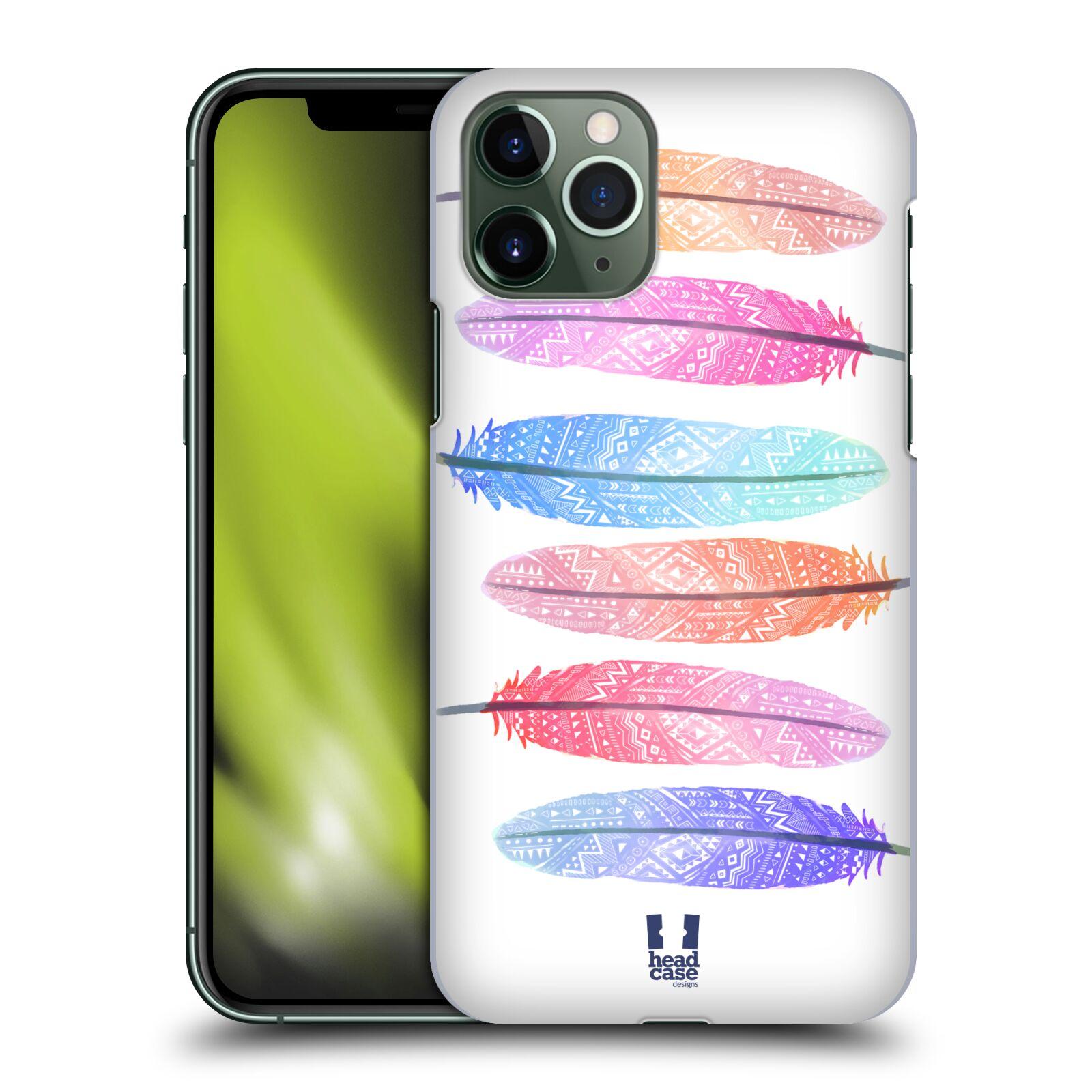 Plastové pouzdro na mobil Apple iPhone 11 Pro - Head Case - AZTEC PÍRKA SILUETY