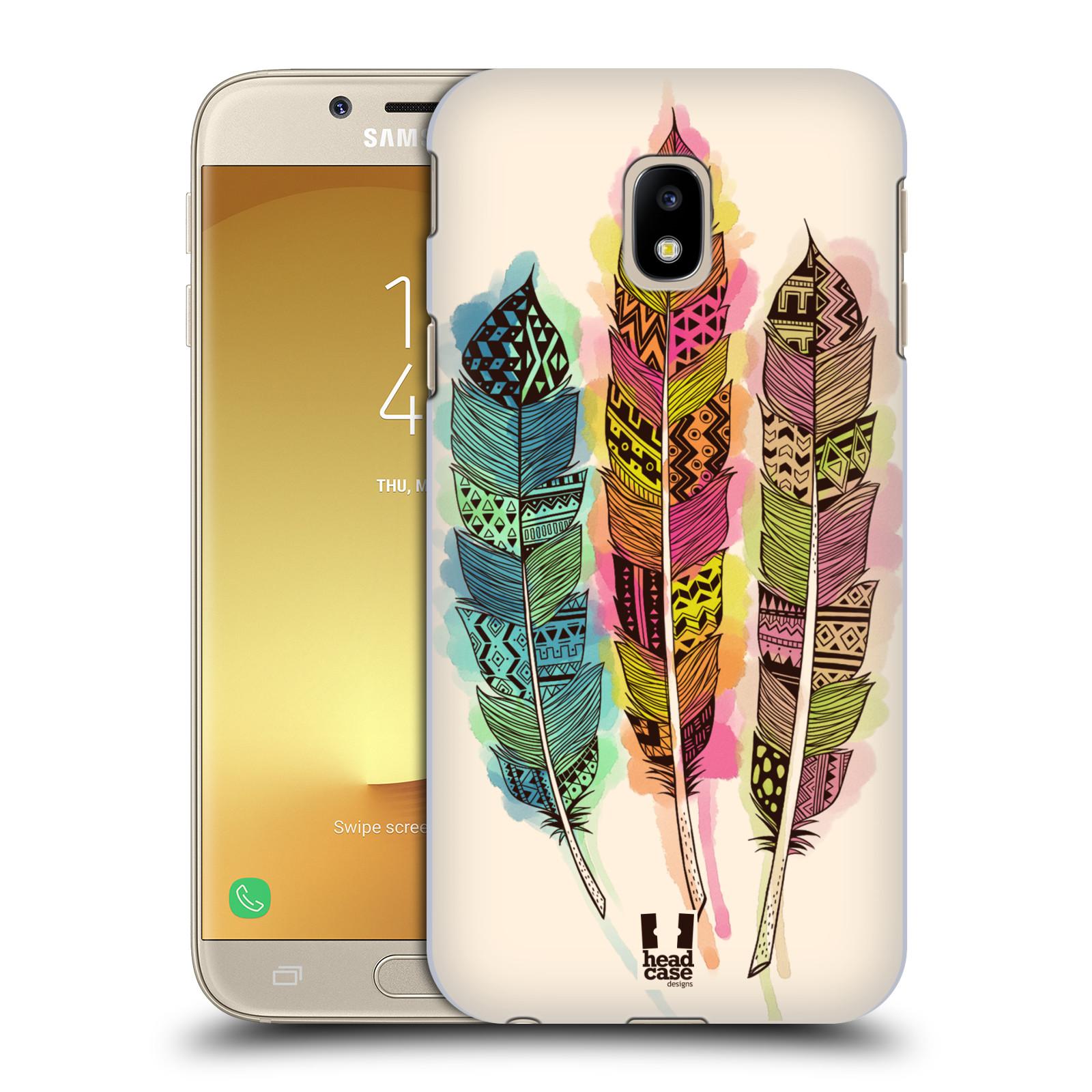 Plastové pouzdro na mobil Samsung Galaxy J3 (2017) - Head Case - AZTEC PÍRKA SPLASH