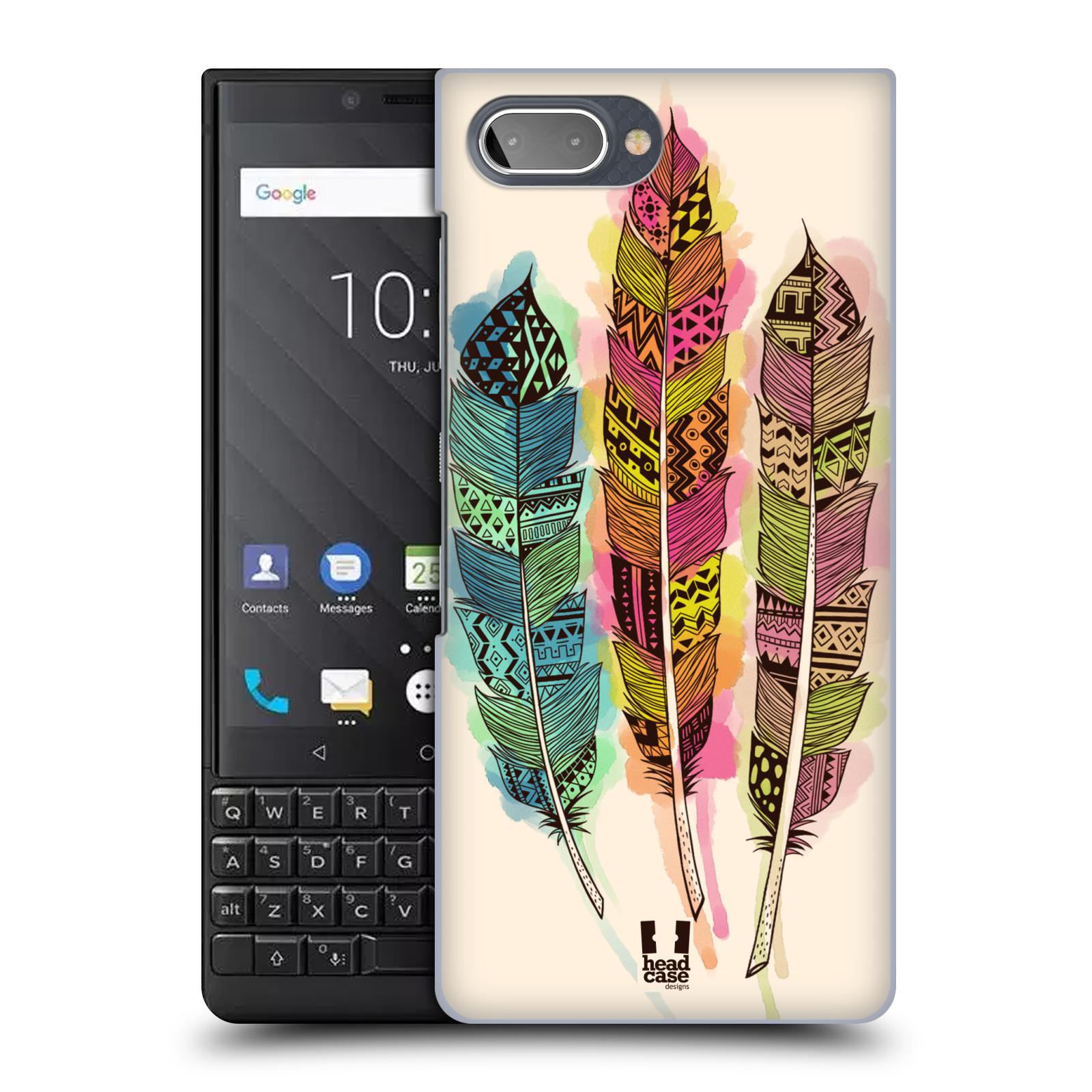 Plastové pouzdro na mobil Blackberry Key 2 - Head Case - AZTEC PÍRKA SPLASH