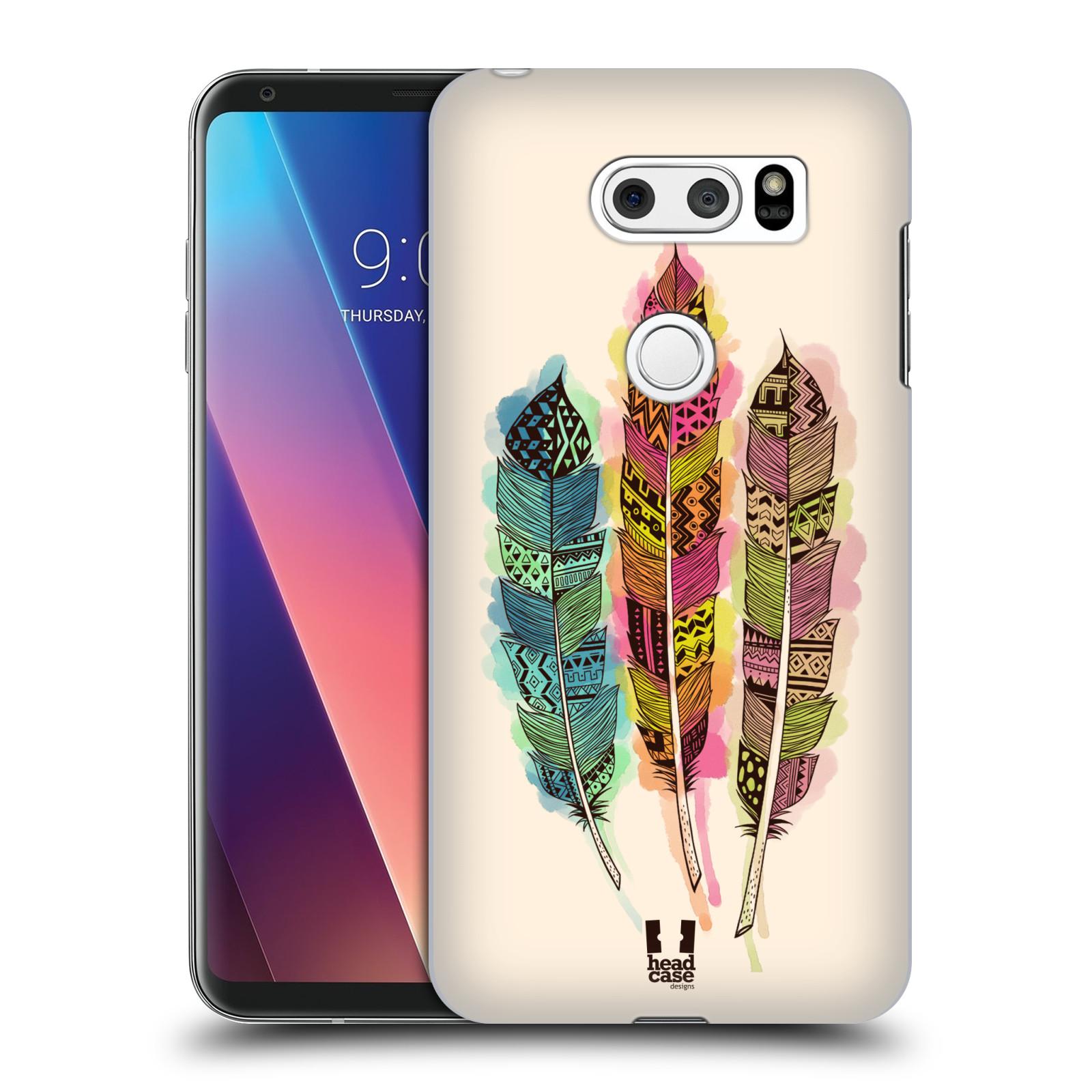 Plastové pouzdro na mobil LG V30 - Head Case - AZTEC PÍRKA SPLASH